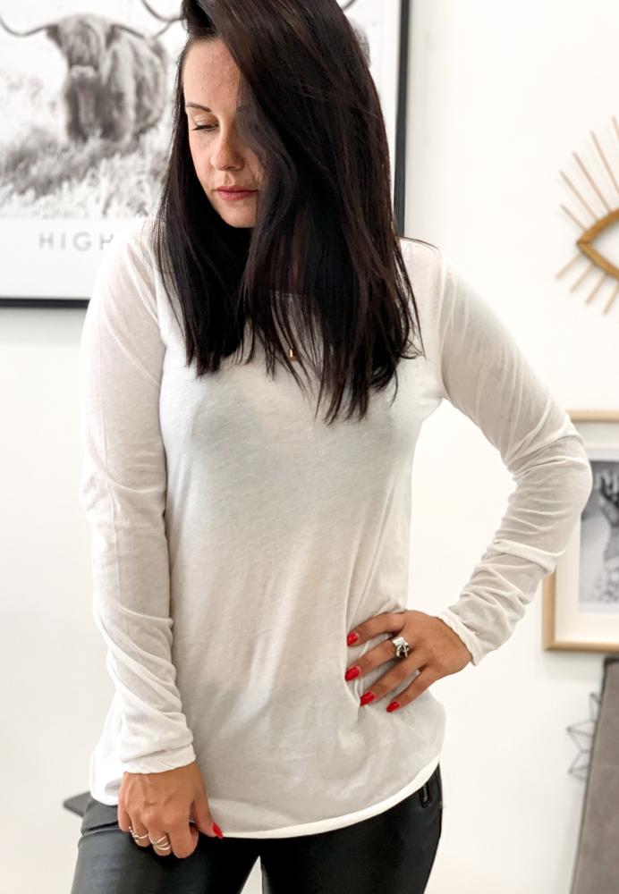 T-shirt CESENA blanc