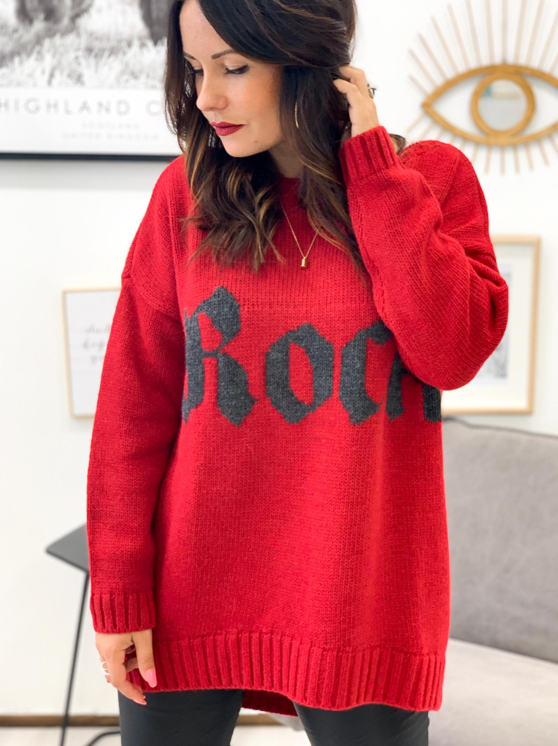Pull ROCKY rouge
