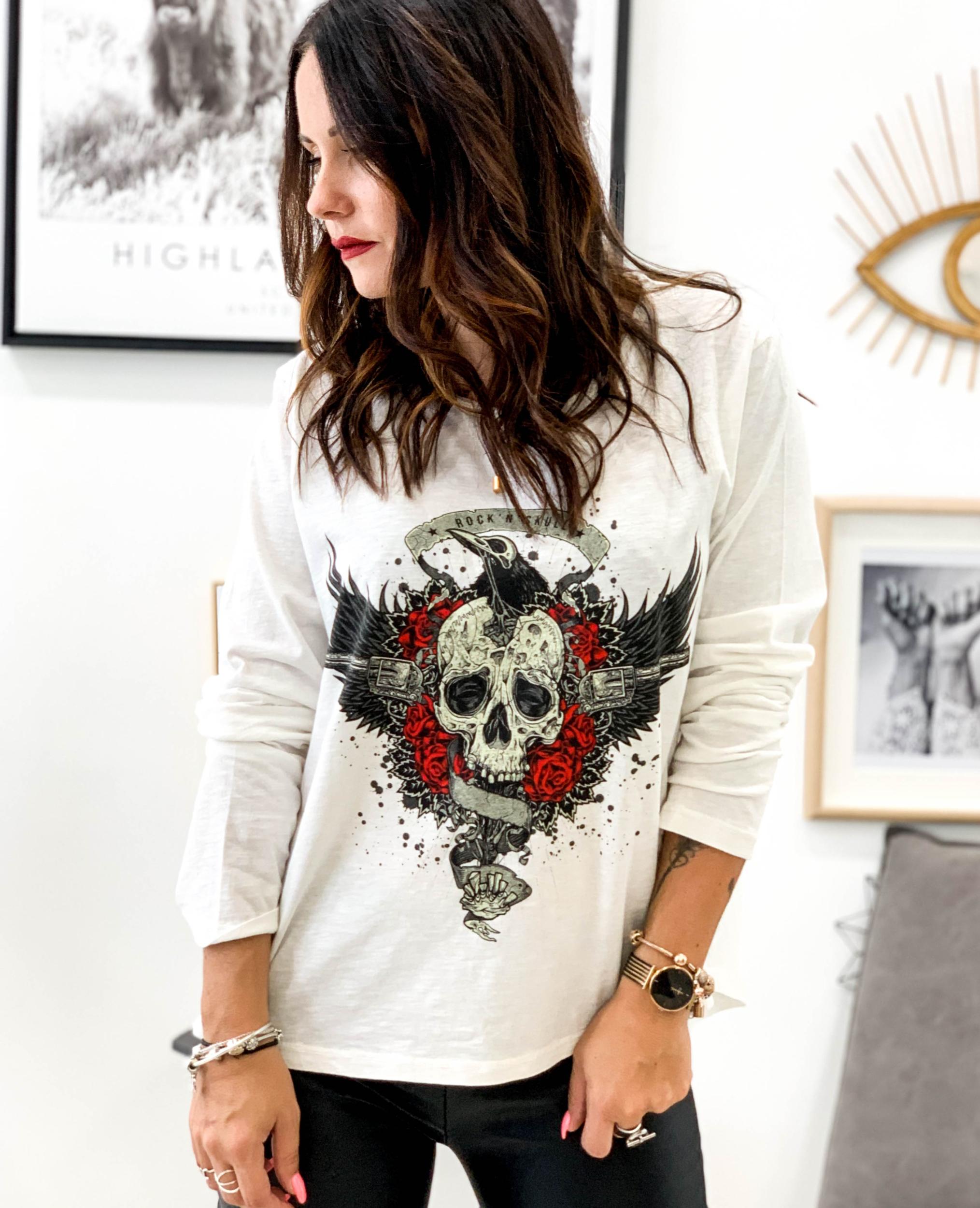 T-shirt MANEO blanc