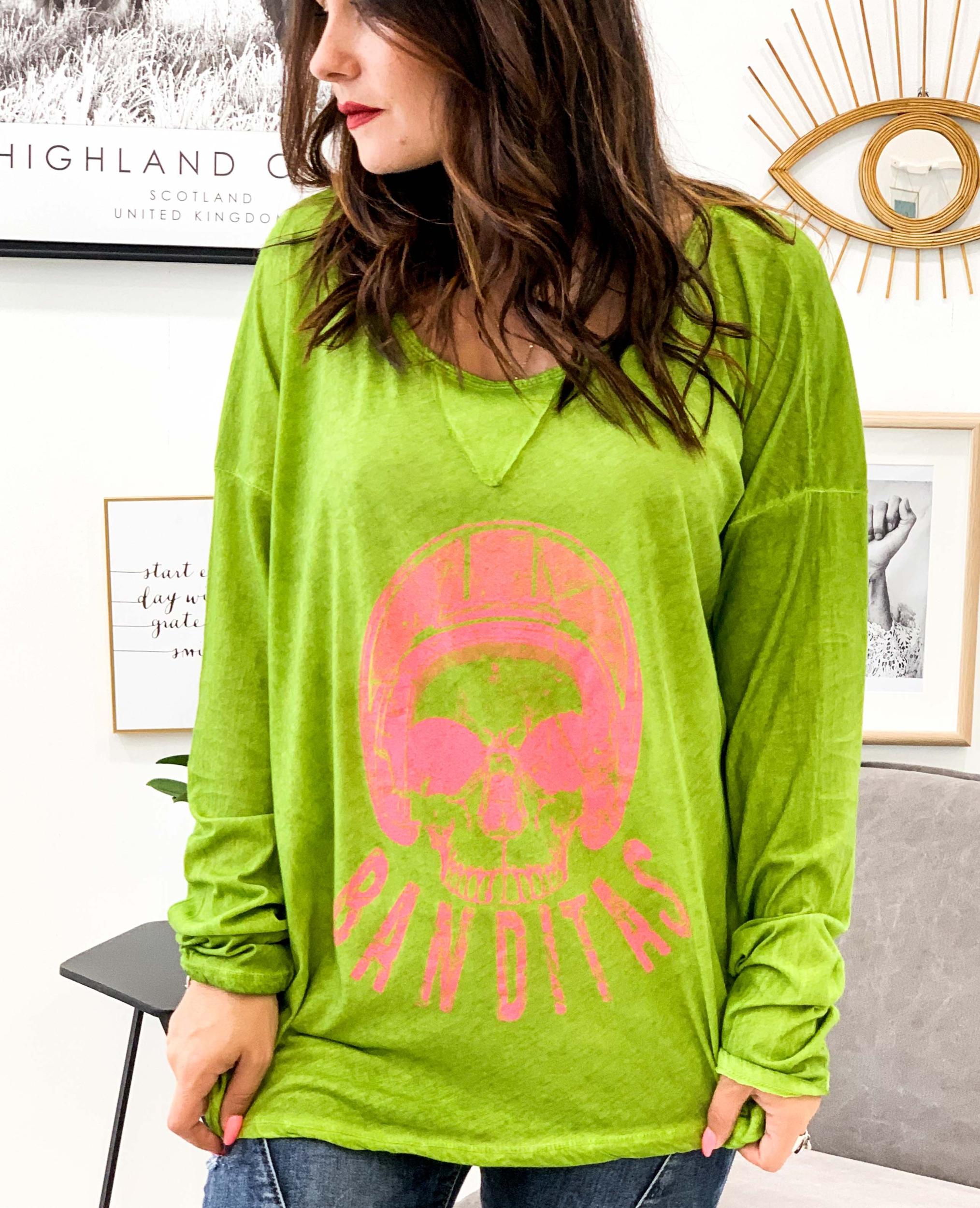 T-shirt GREGOIRE vert pomme