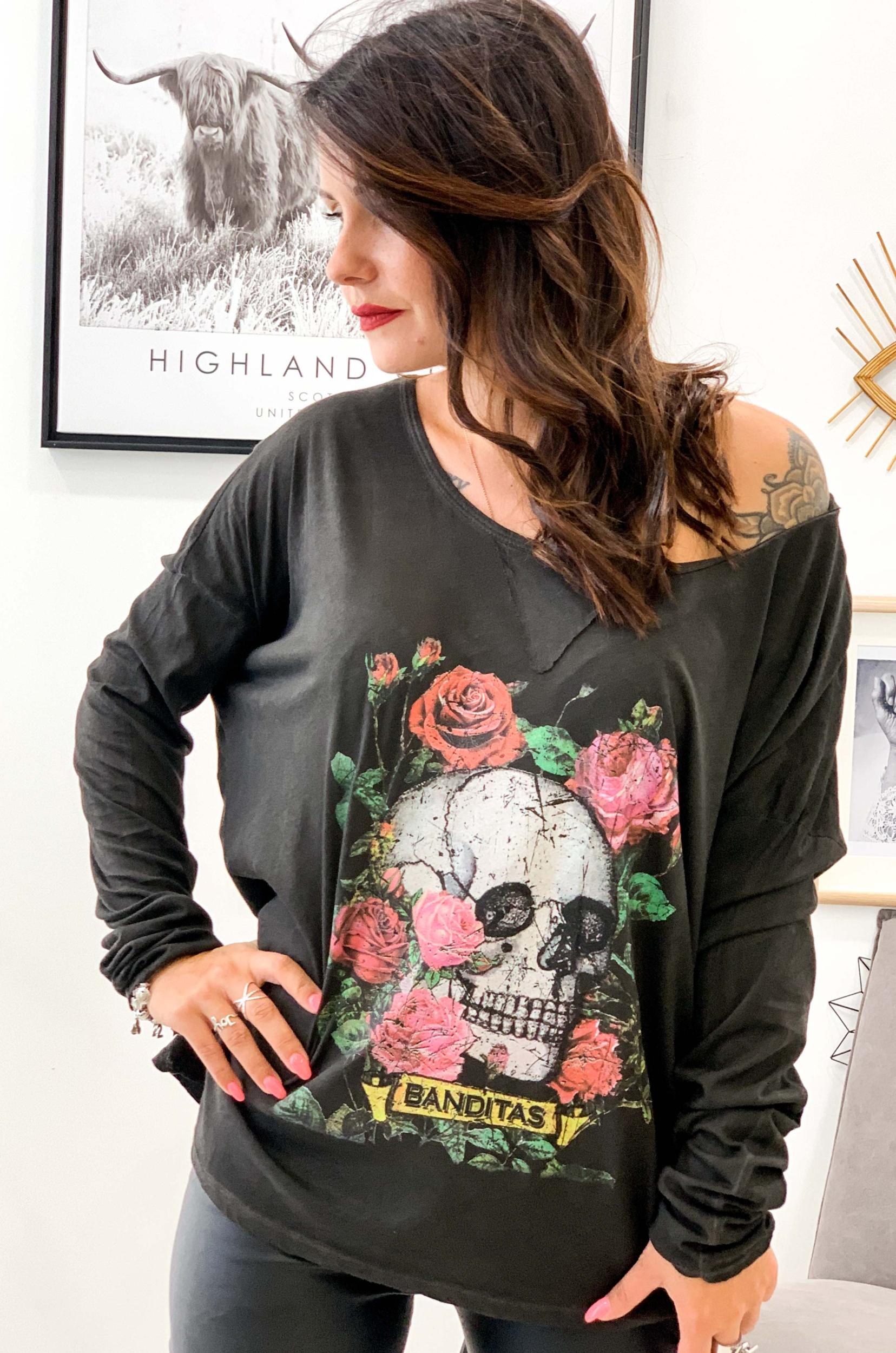 T-shirt ROX noir