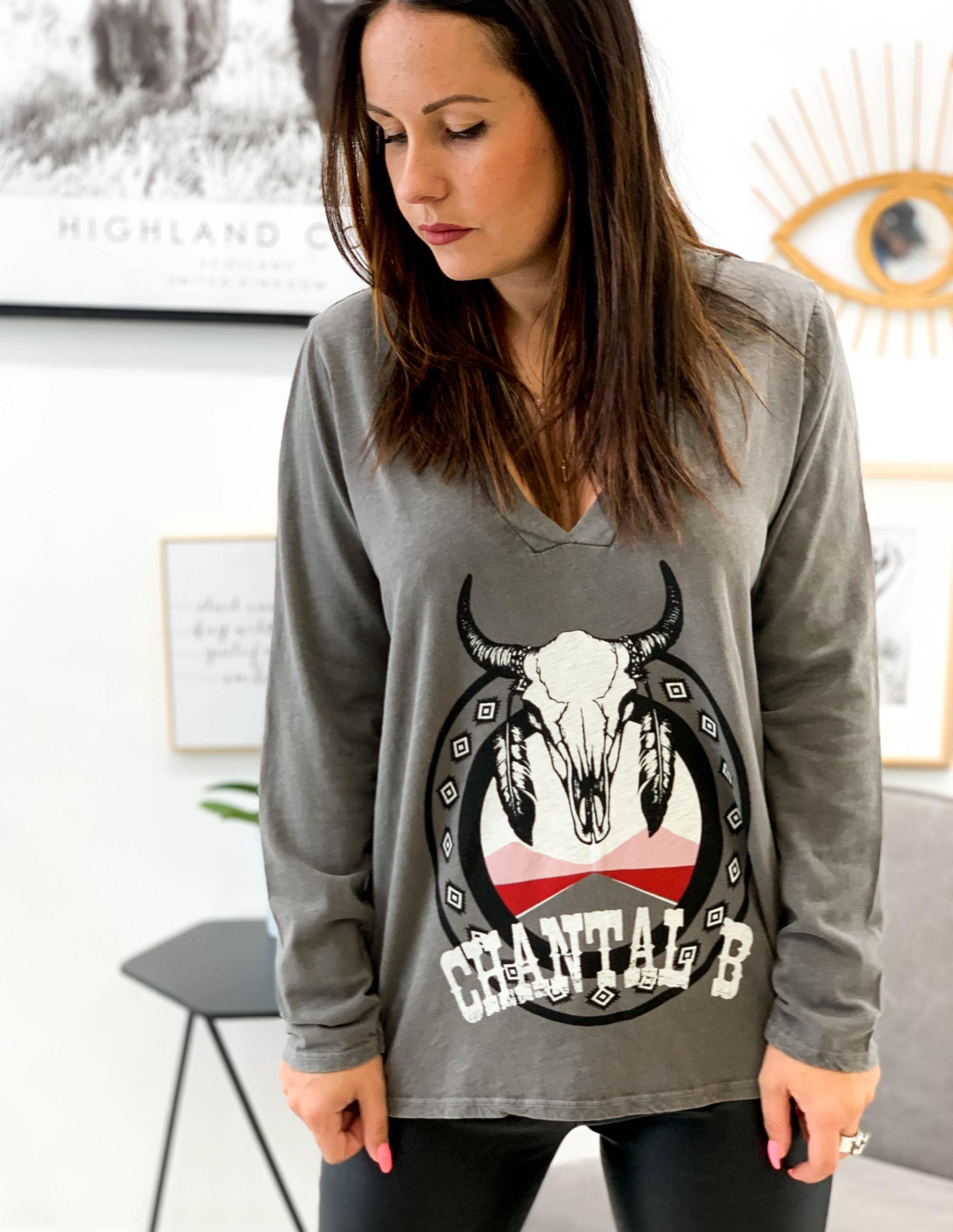T-shirt BUFFALO gris
