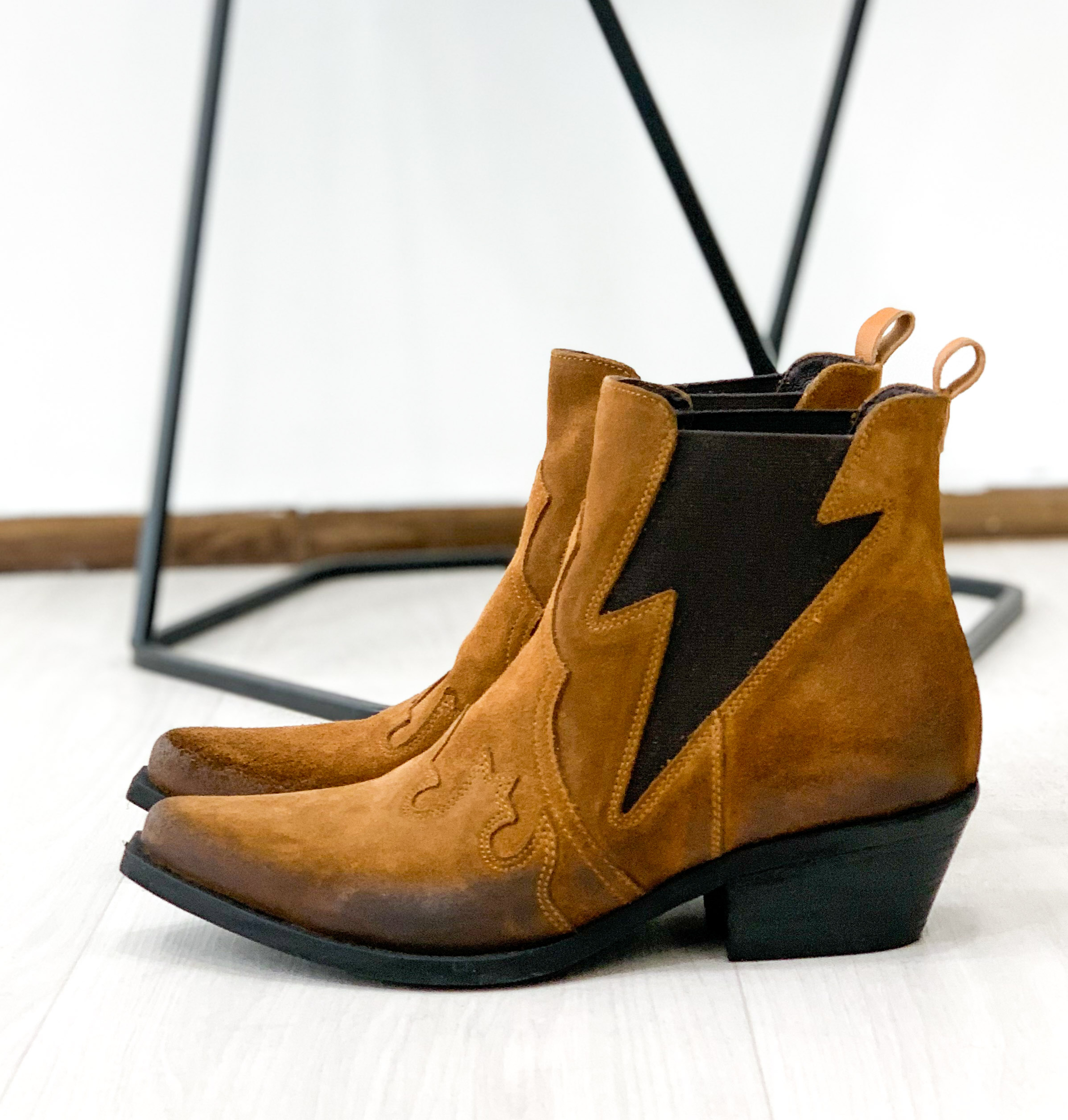 Bottines MADA camel