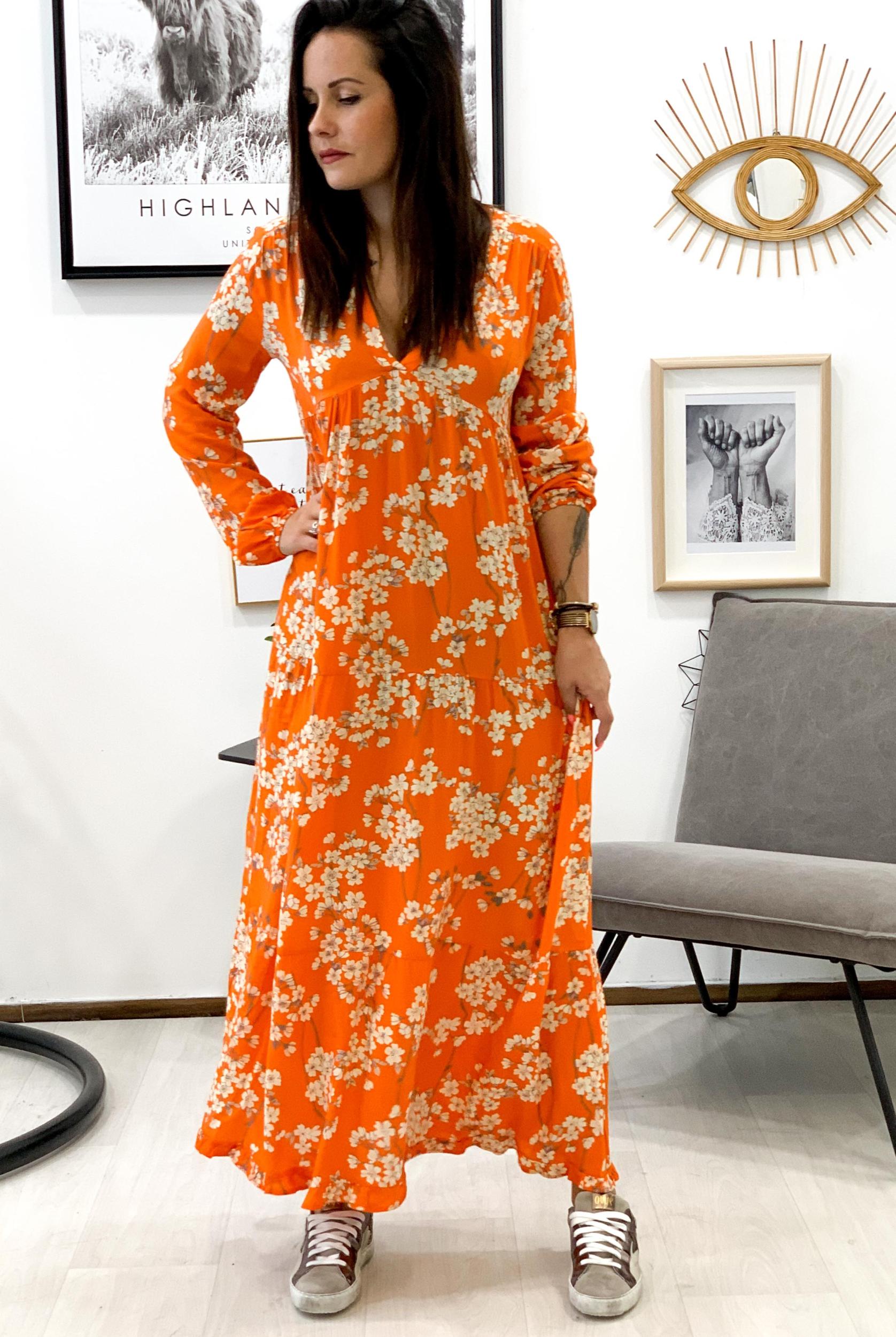 Robe LUCIA orange