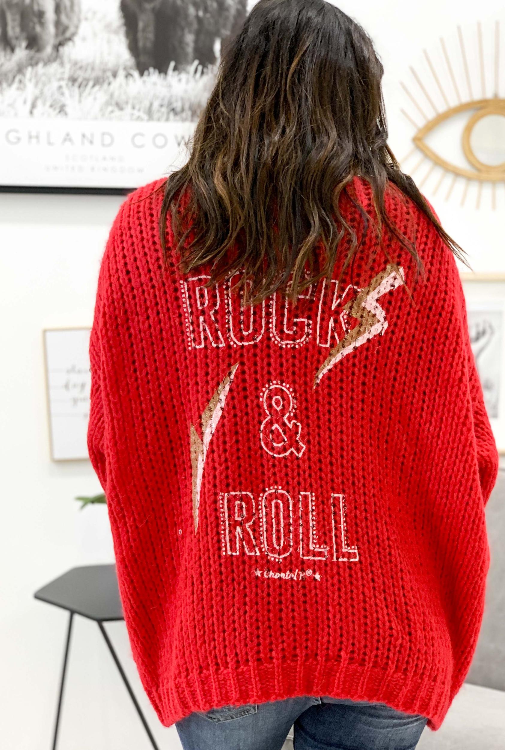 Gilet ROCK rouge