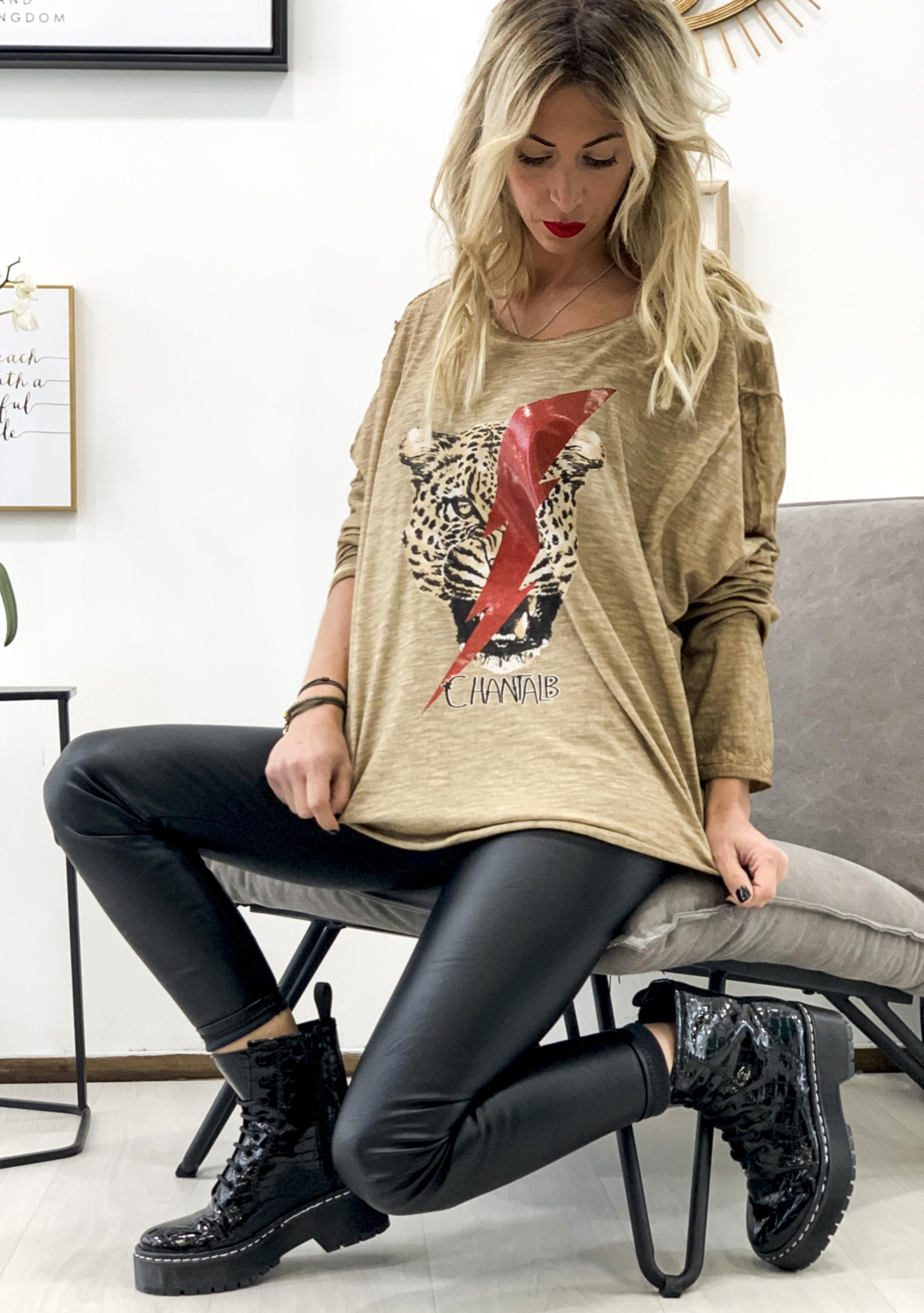T-shirt MAGALI camel