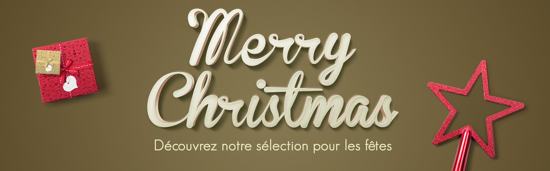 Découvrez notre sélection de Noël