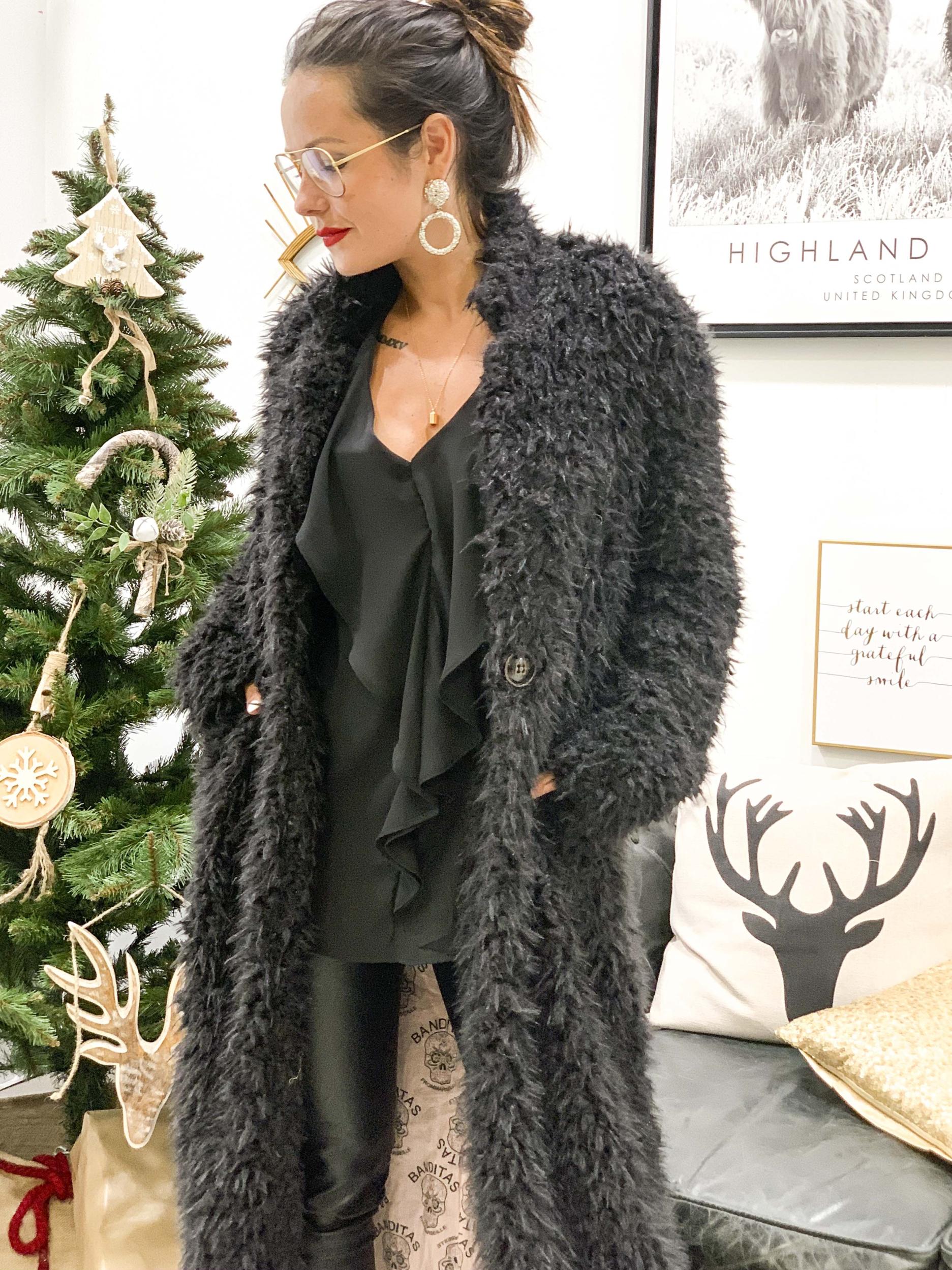 Manteau ANITA noir