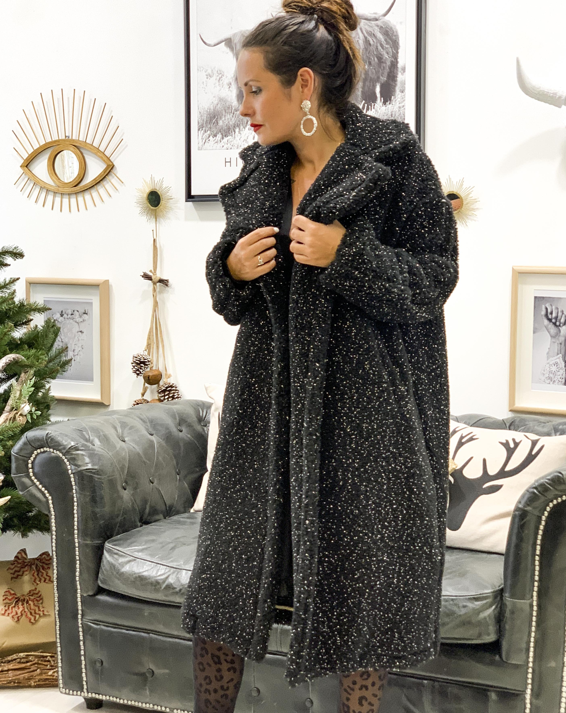 Manteau PRETTY noir