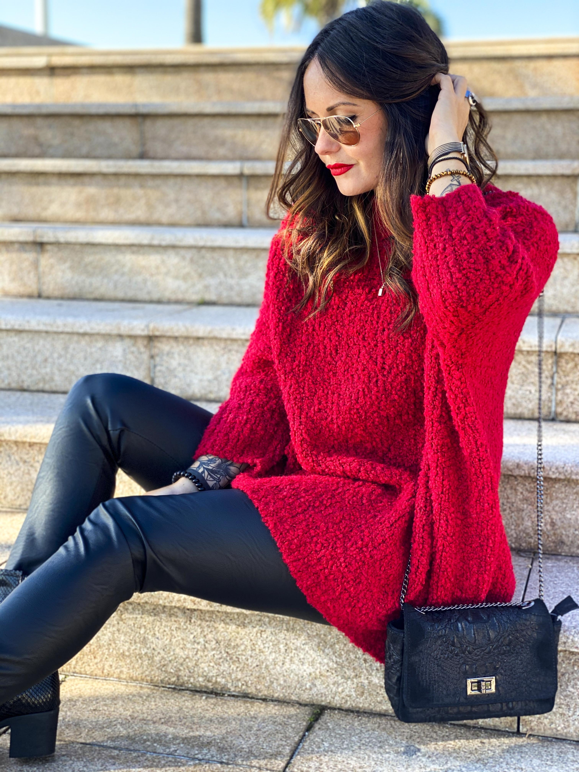 Pull DONA rouge
