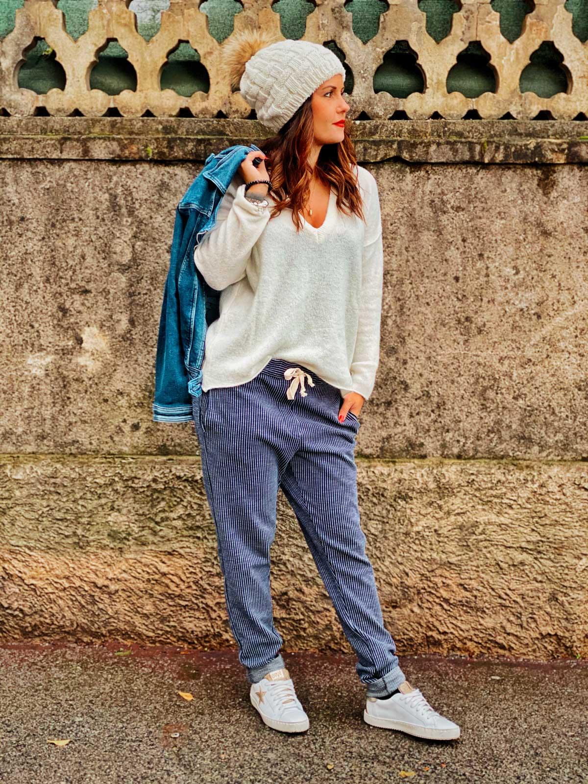 Pantalon Baltimore bleu
