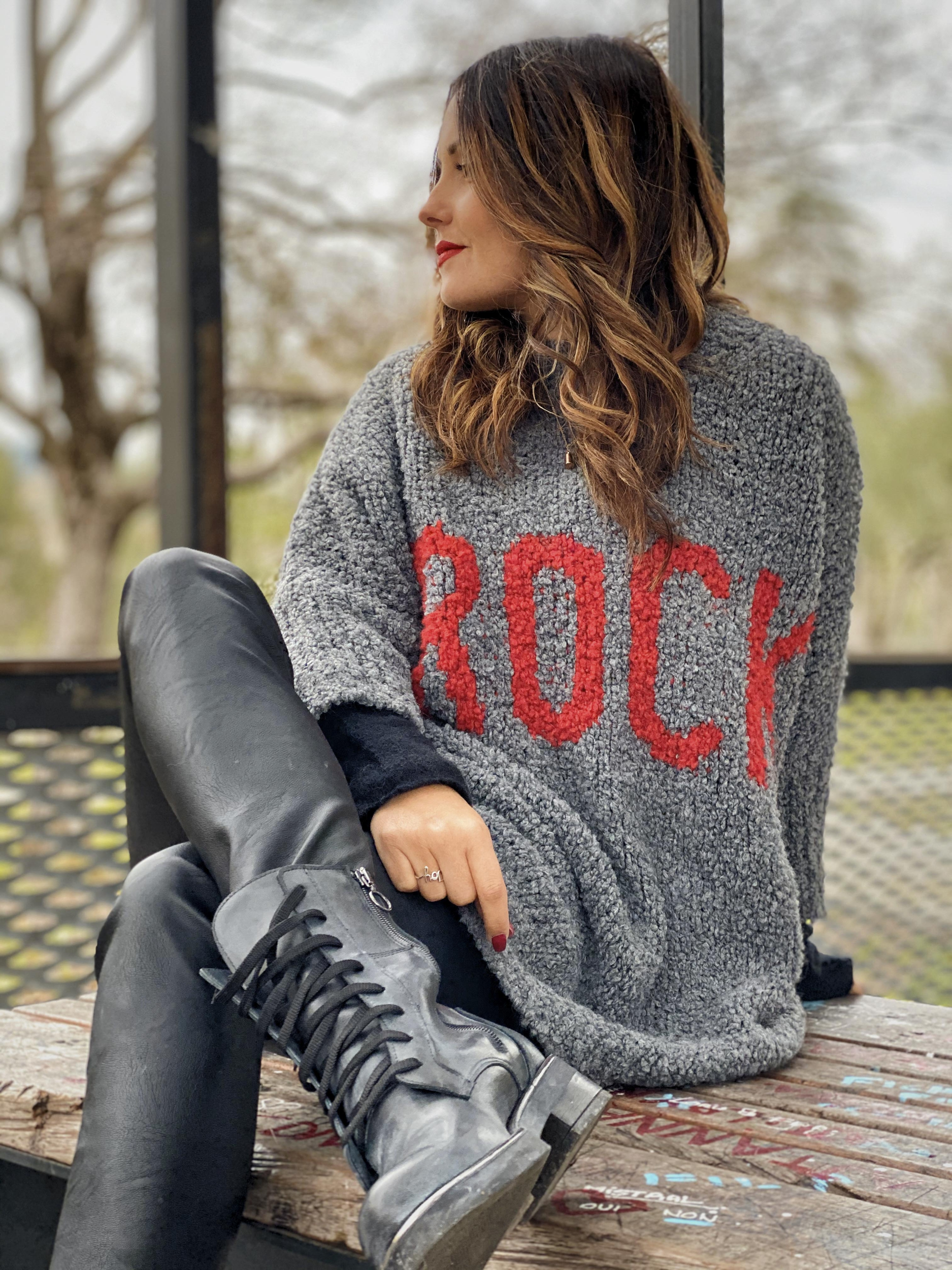 Pull DONA ROCK gris
