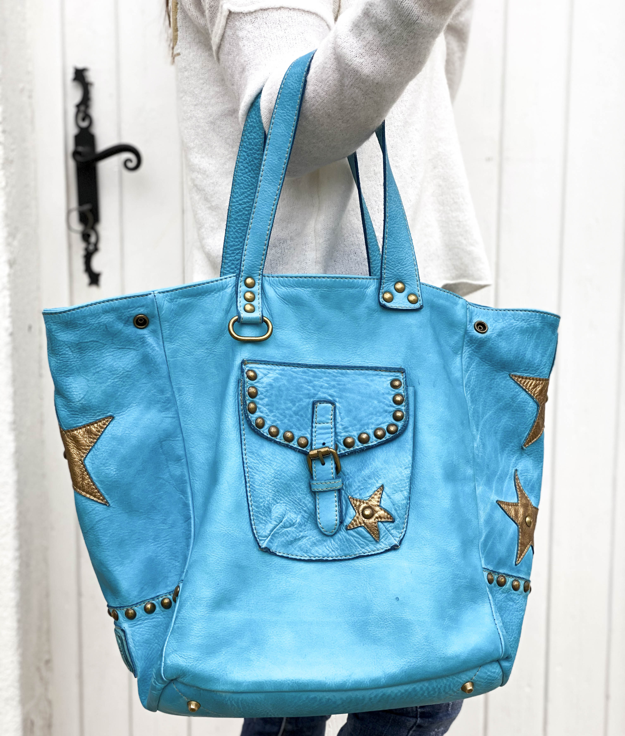 Sac CHIARA turquoise