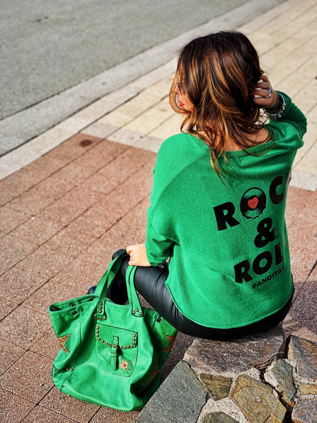Pull ROLLY vert