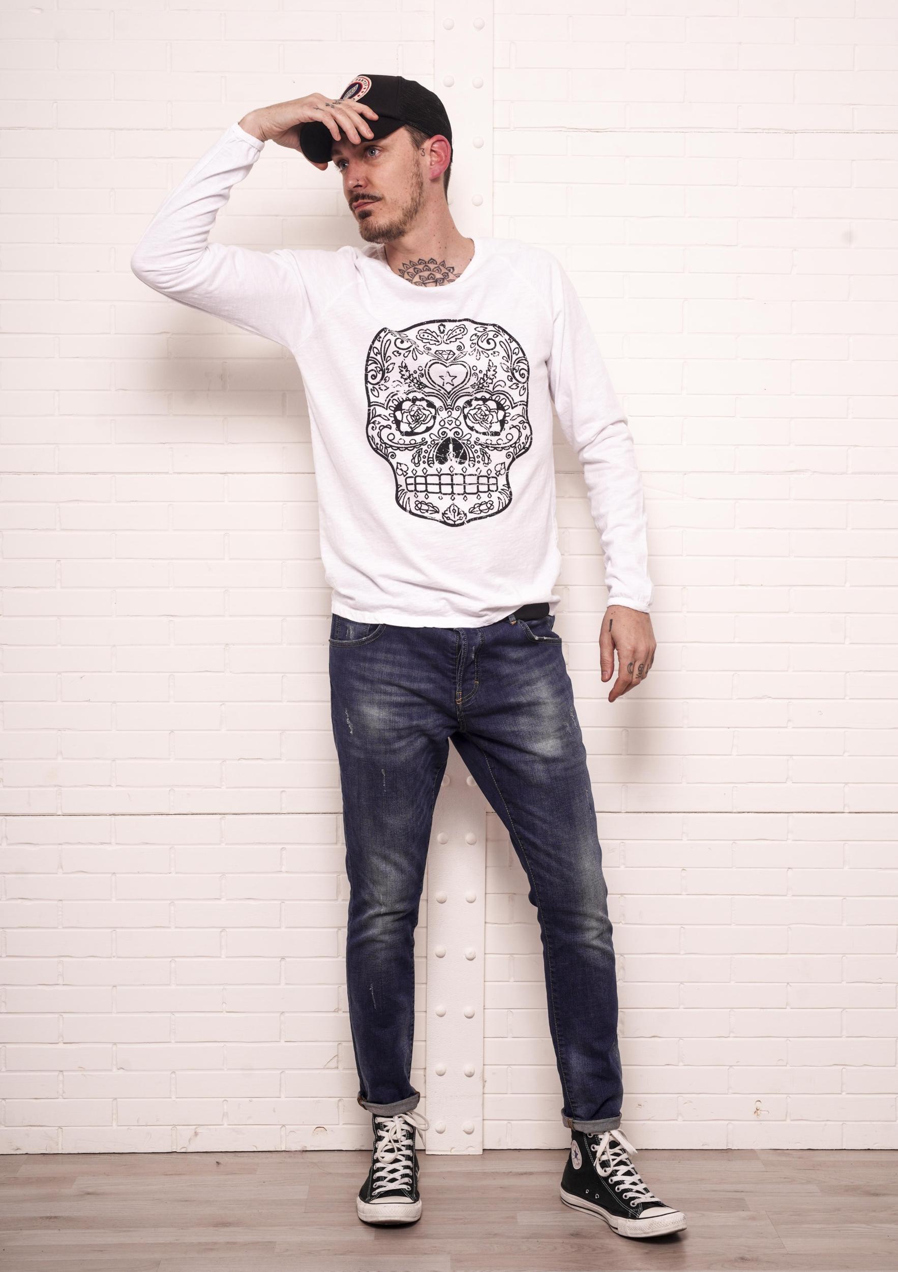 T-shirt ALEX blanc