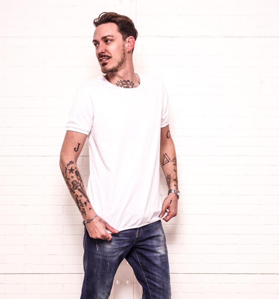 T-shirt EDISON blanc