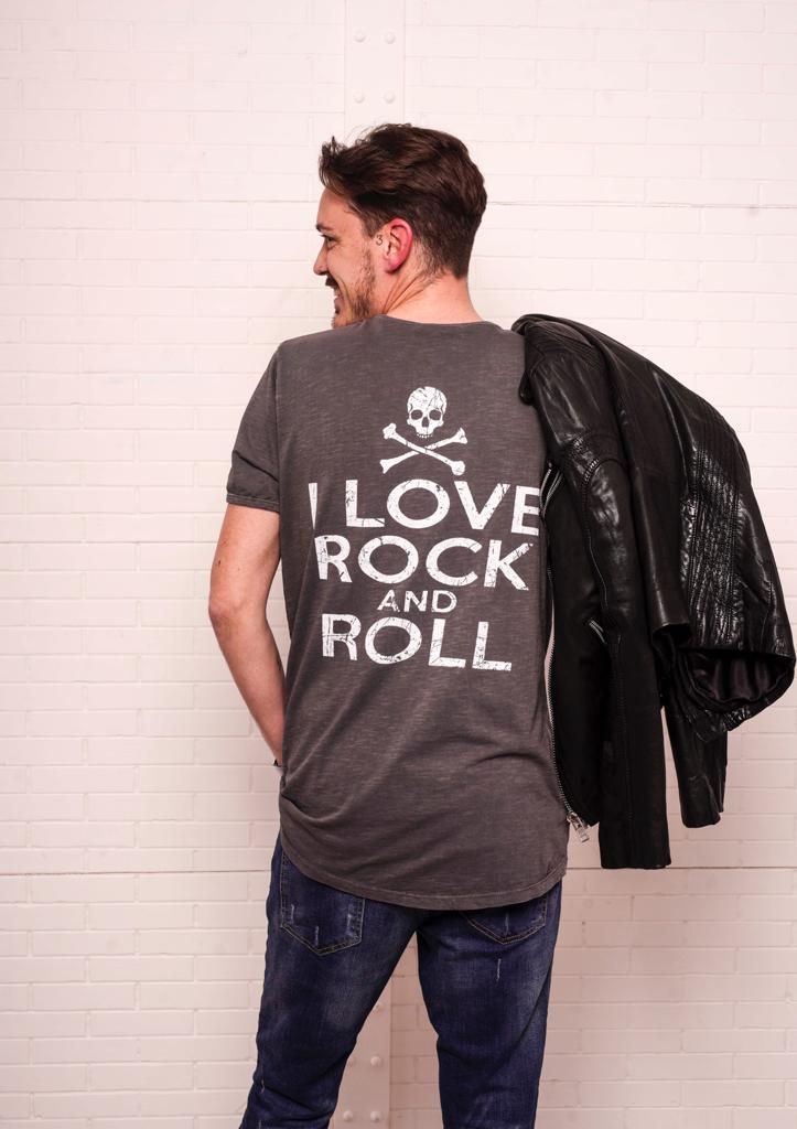 T-shirt JONAS gris