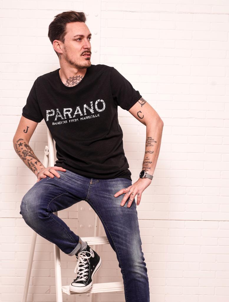T-shirt PARANO noir
