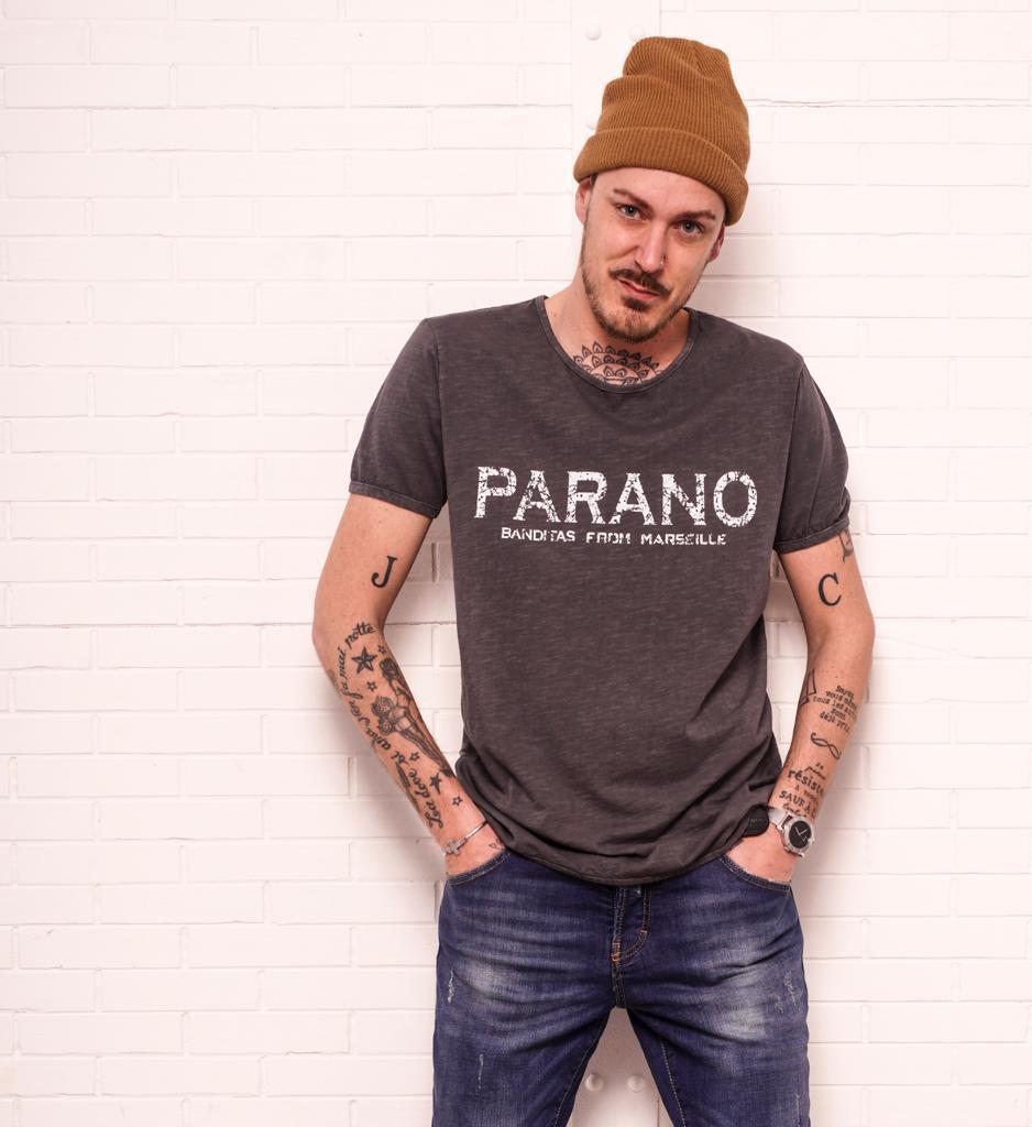 T-shirt PARANO gris