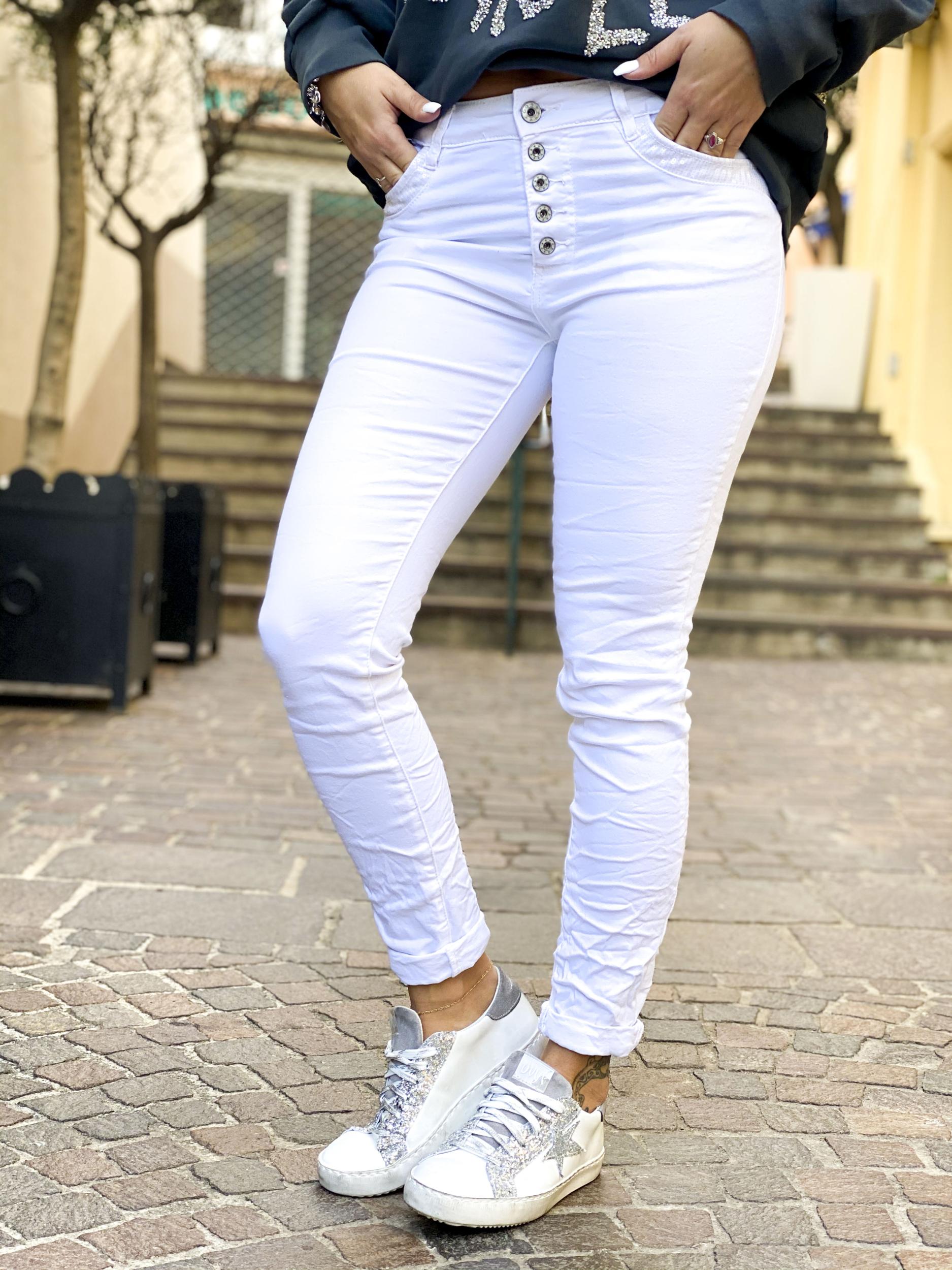 Pantalon NIKARA blanc