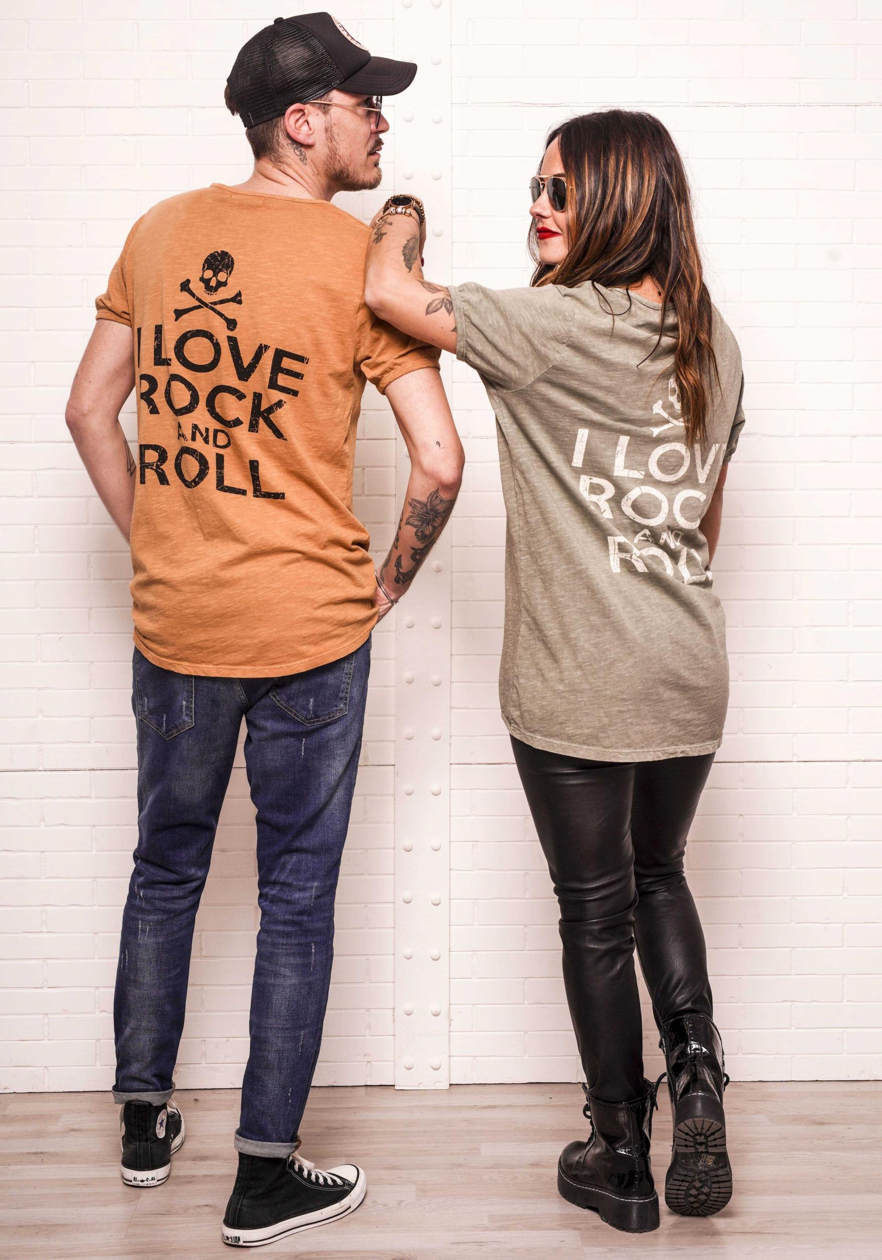 T-shirt JONAS camel