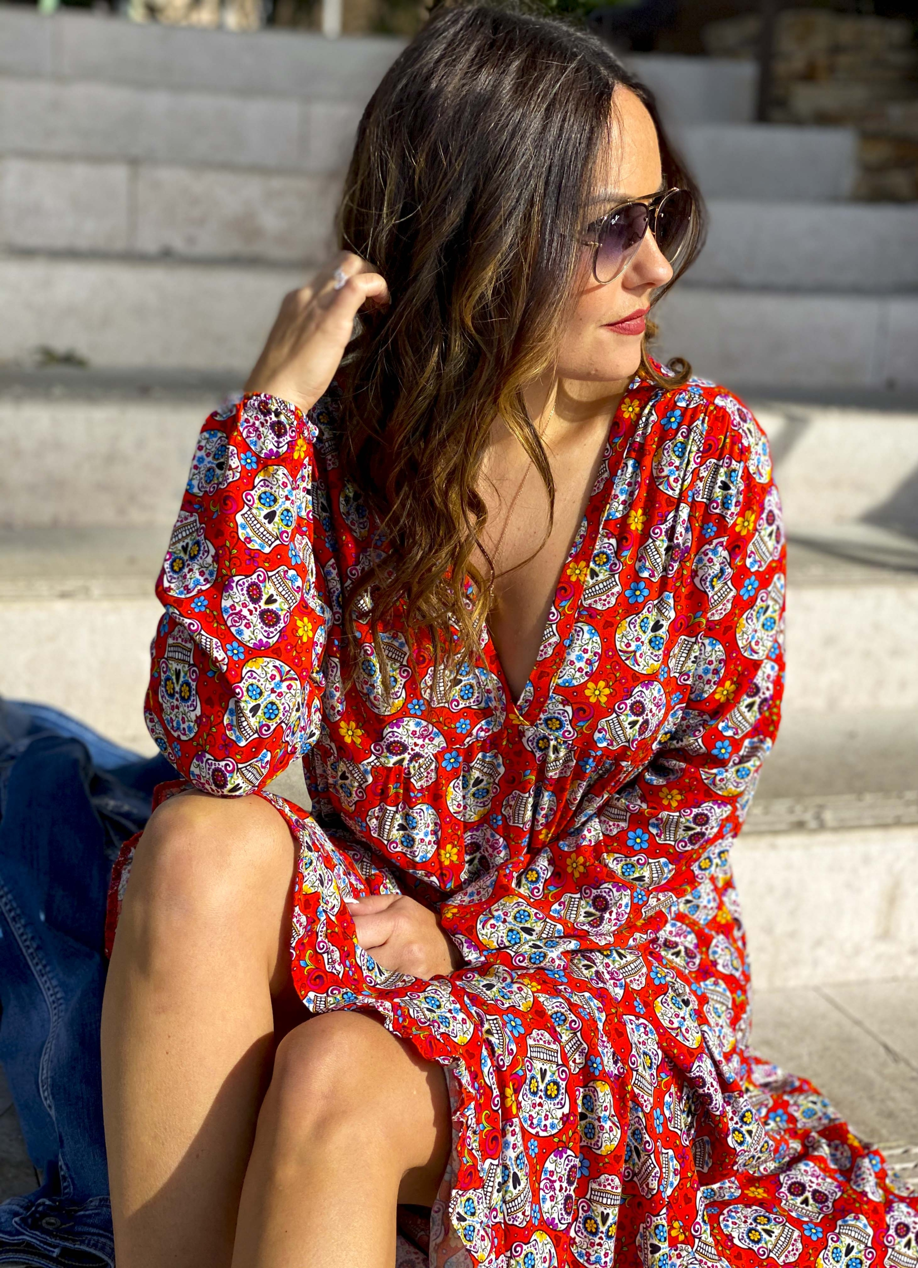 Robe MEXICANA rouge