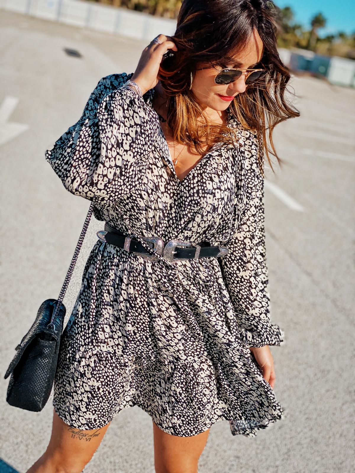 Robe CORABIA noir