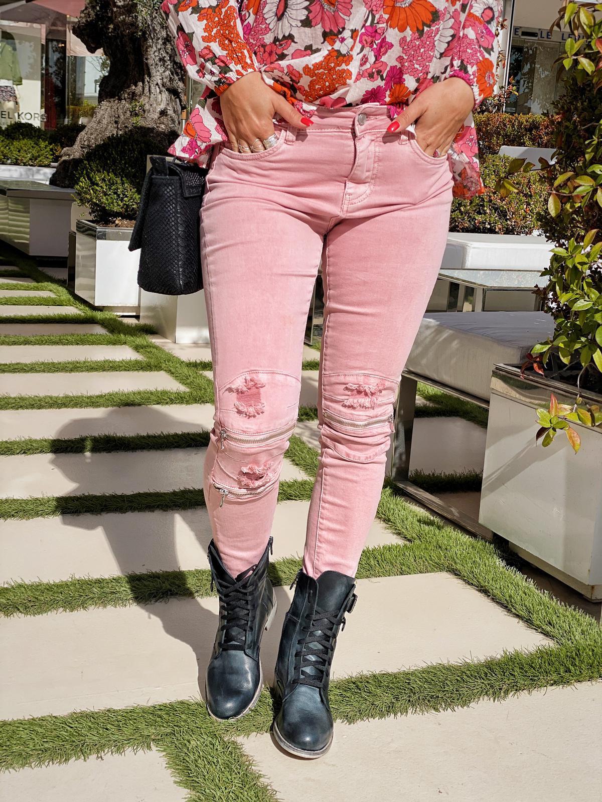 Pantalon PENNY rose