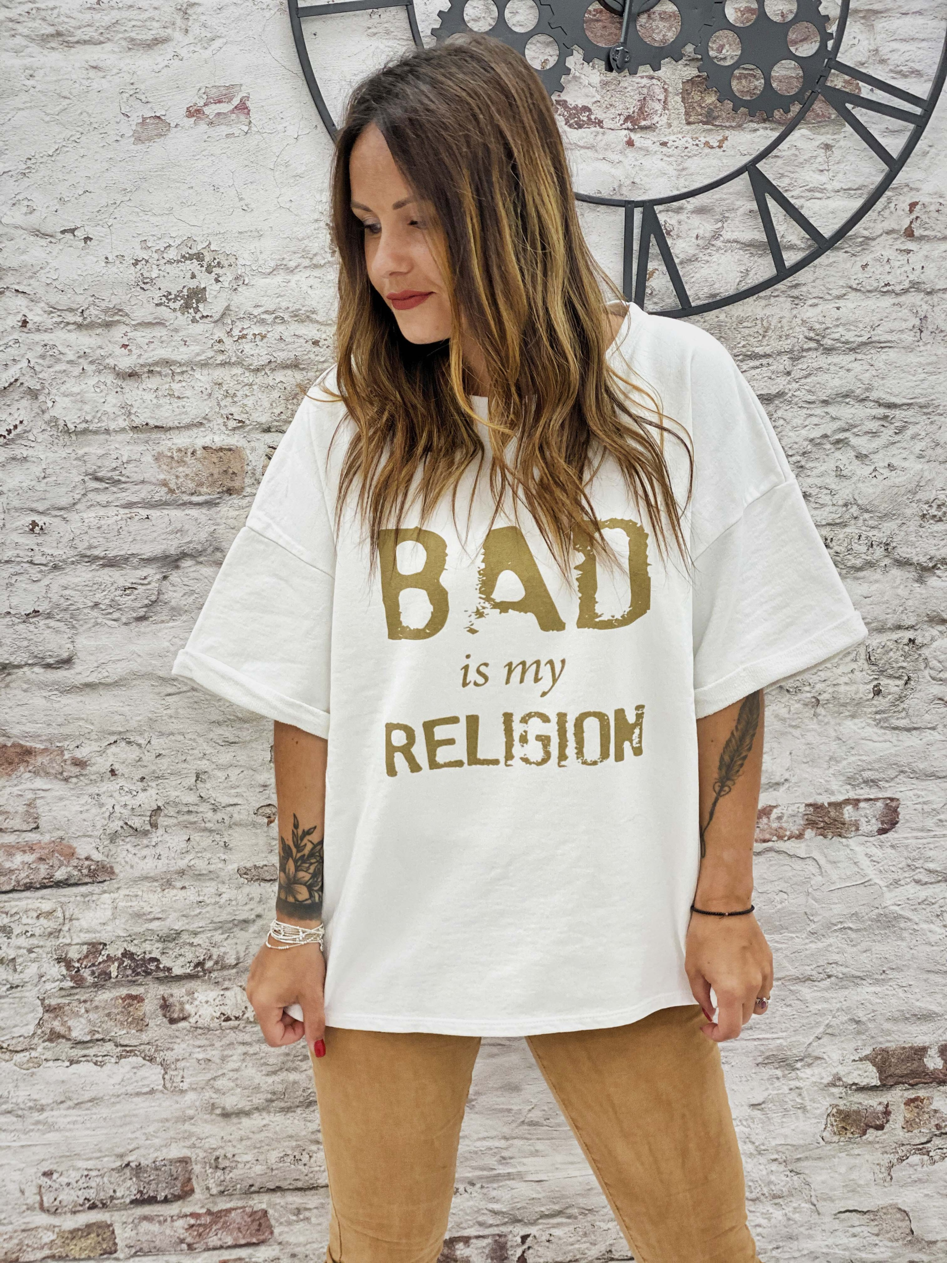 Sweat RELIGION blanc