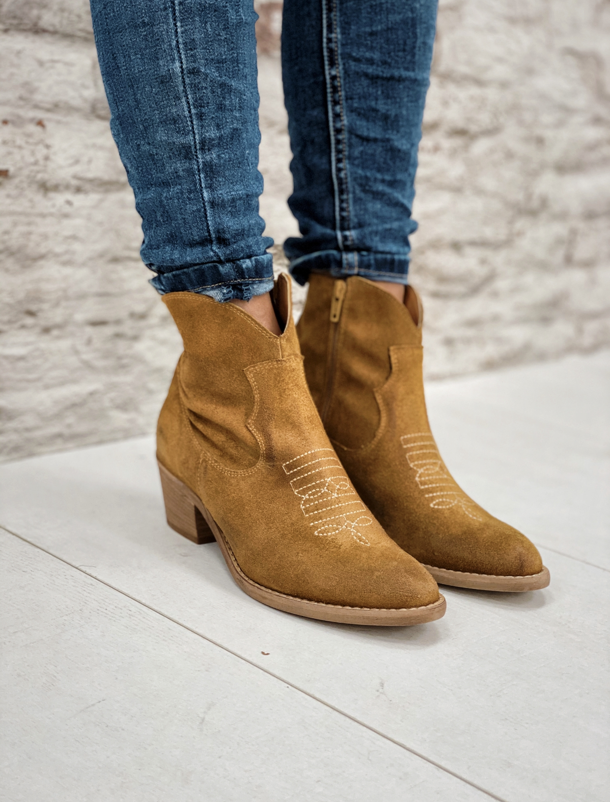 Bottines TAOS camel Sweet lemon