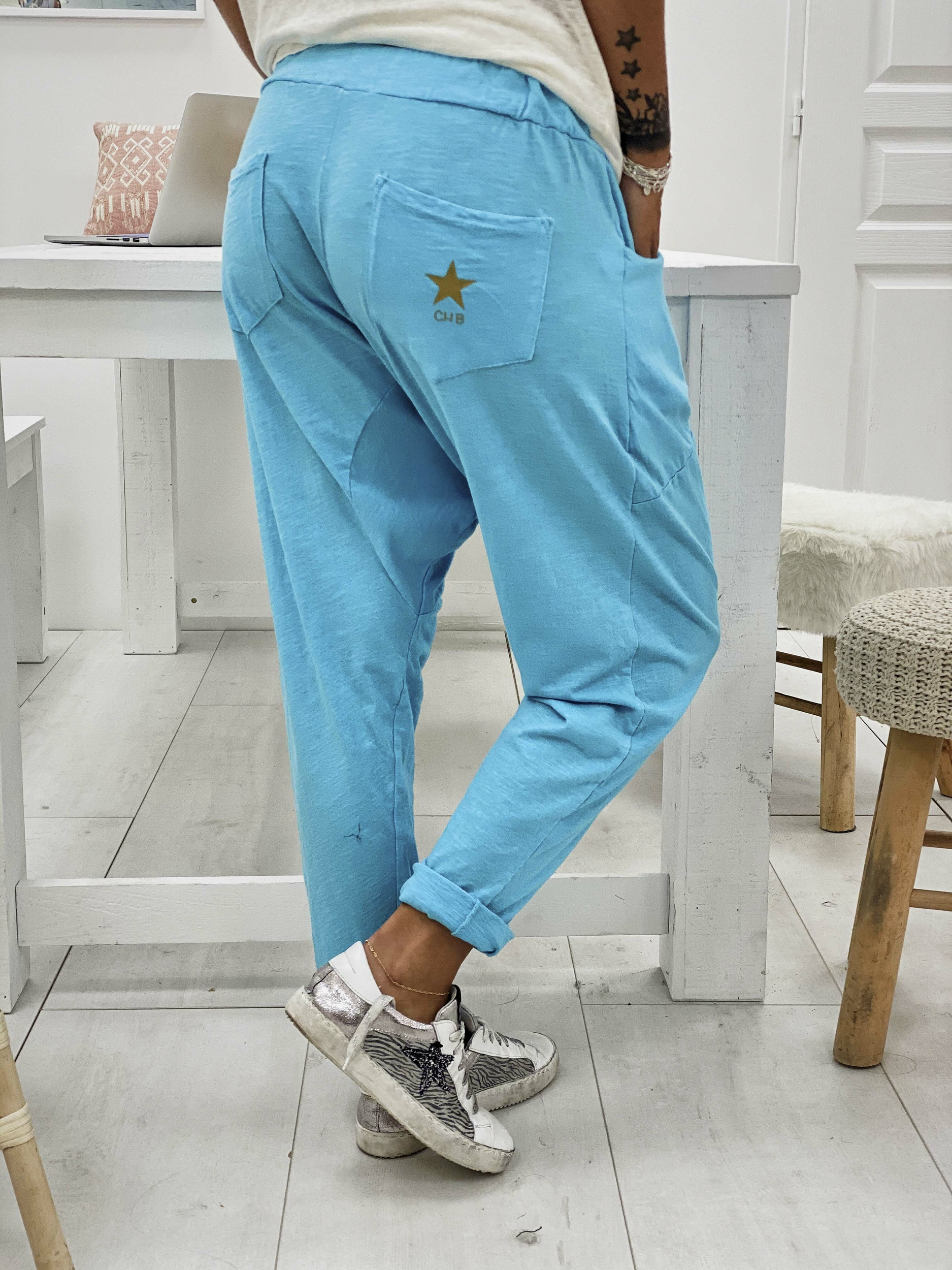 Jogging KIMBA turquoise Chantal B