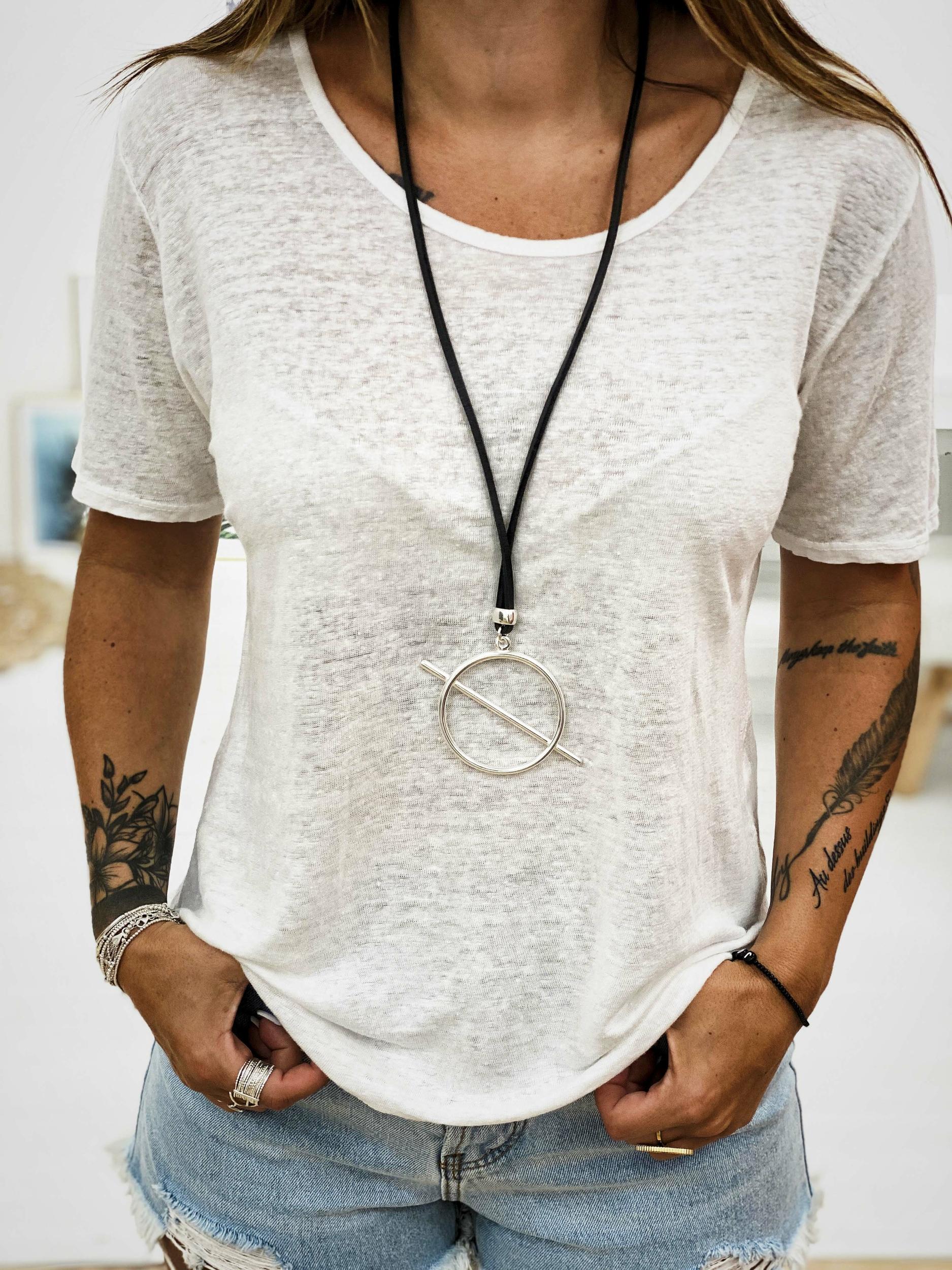 T-shirt PIPA blanc Banditas