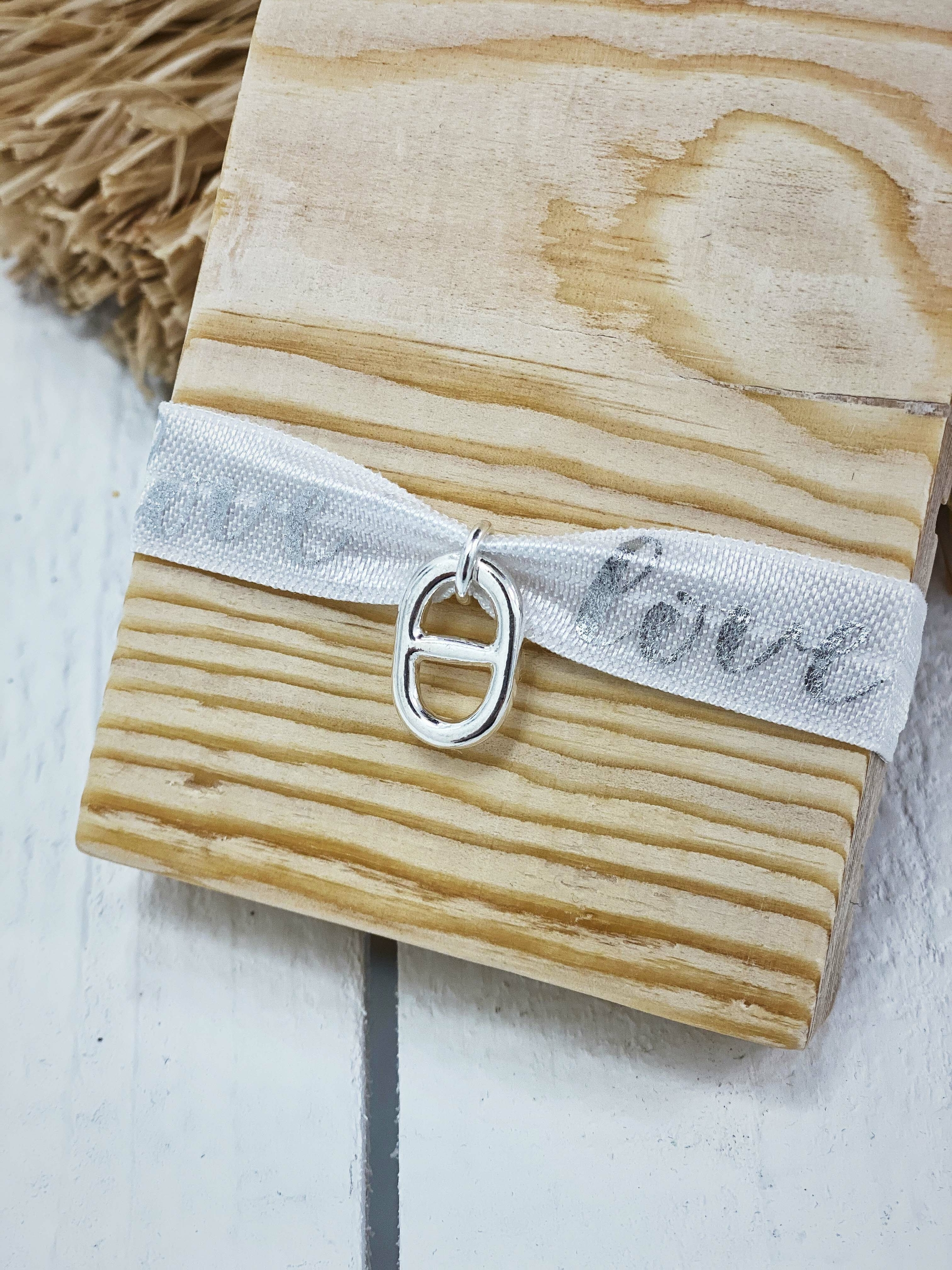 Bracelet COURTNEY blanc Keva