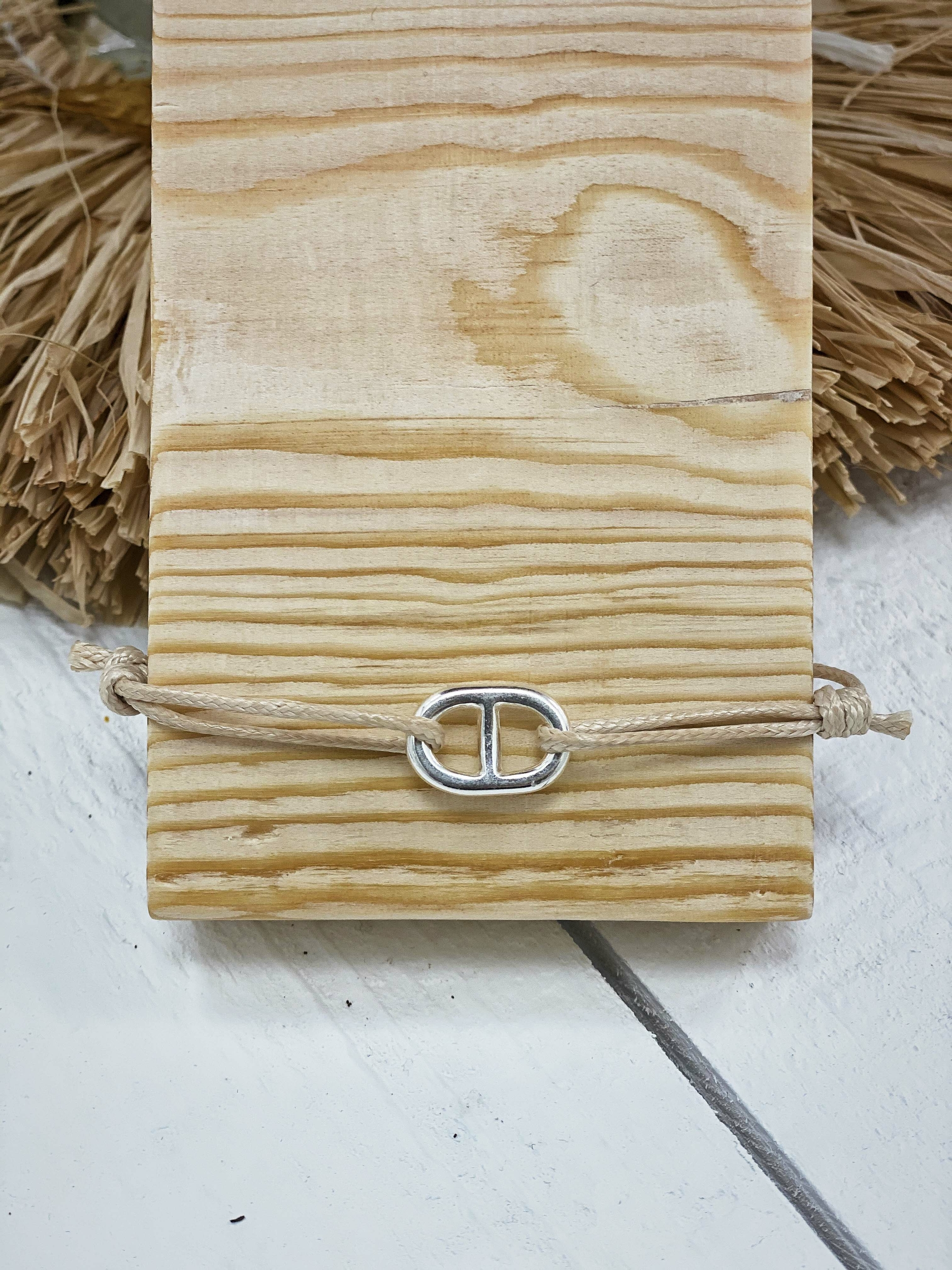 Bracelet CAMELIA beige Keva