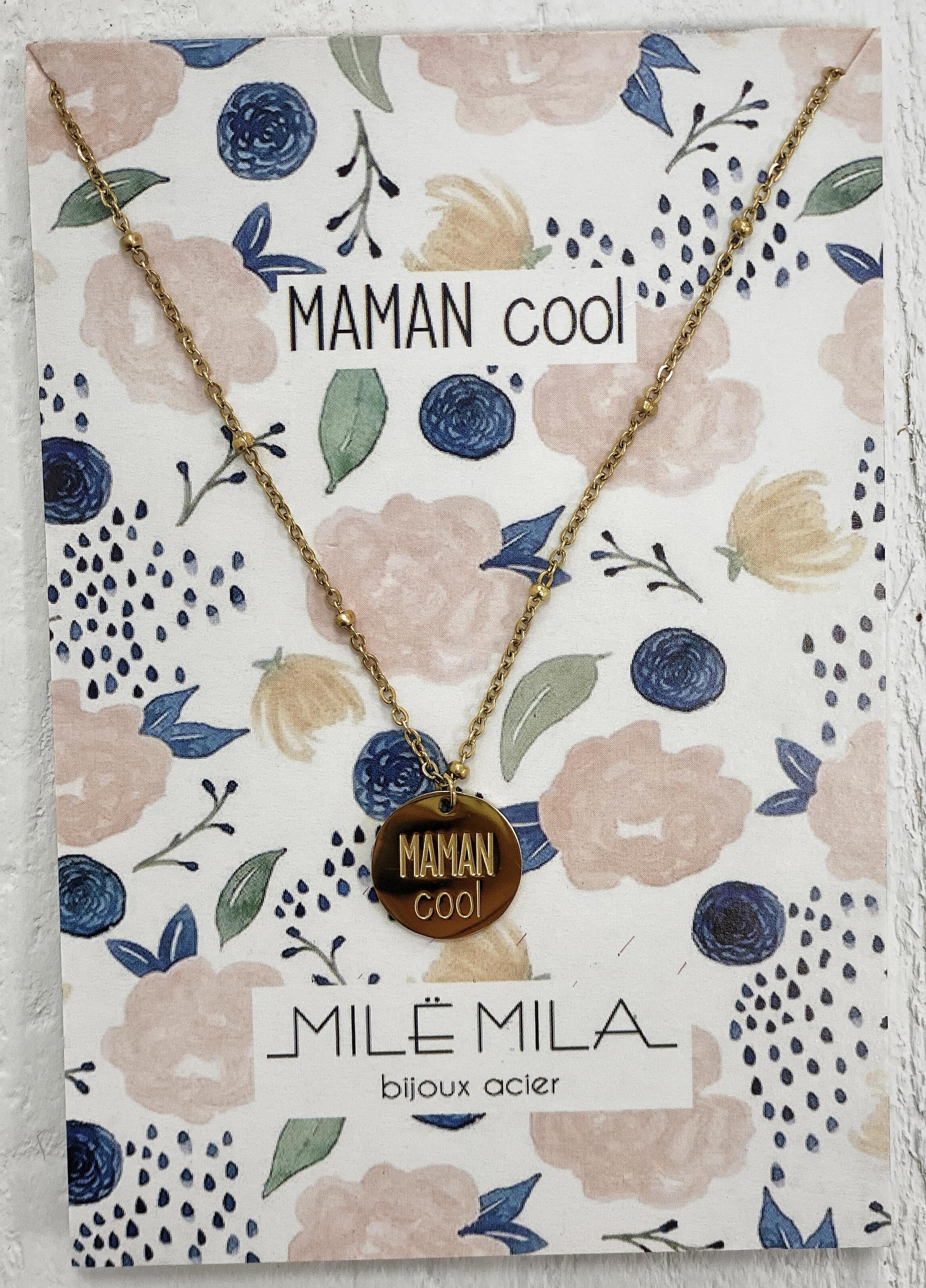 Collier MAMAN COOL
