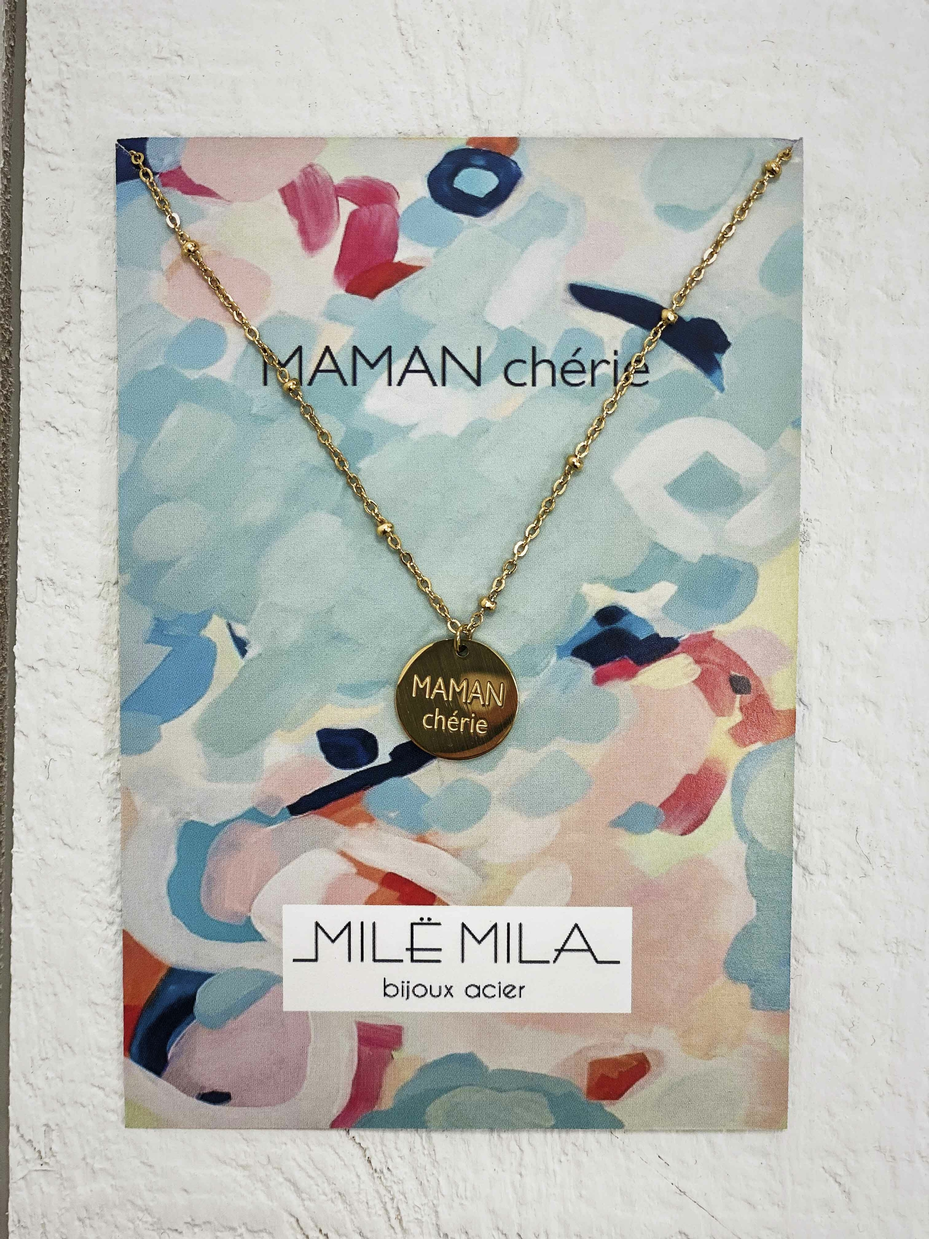 Collier MAMAN CHERIE V1