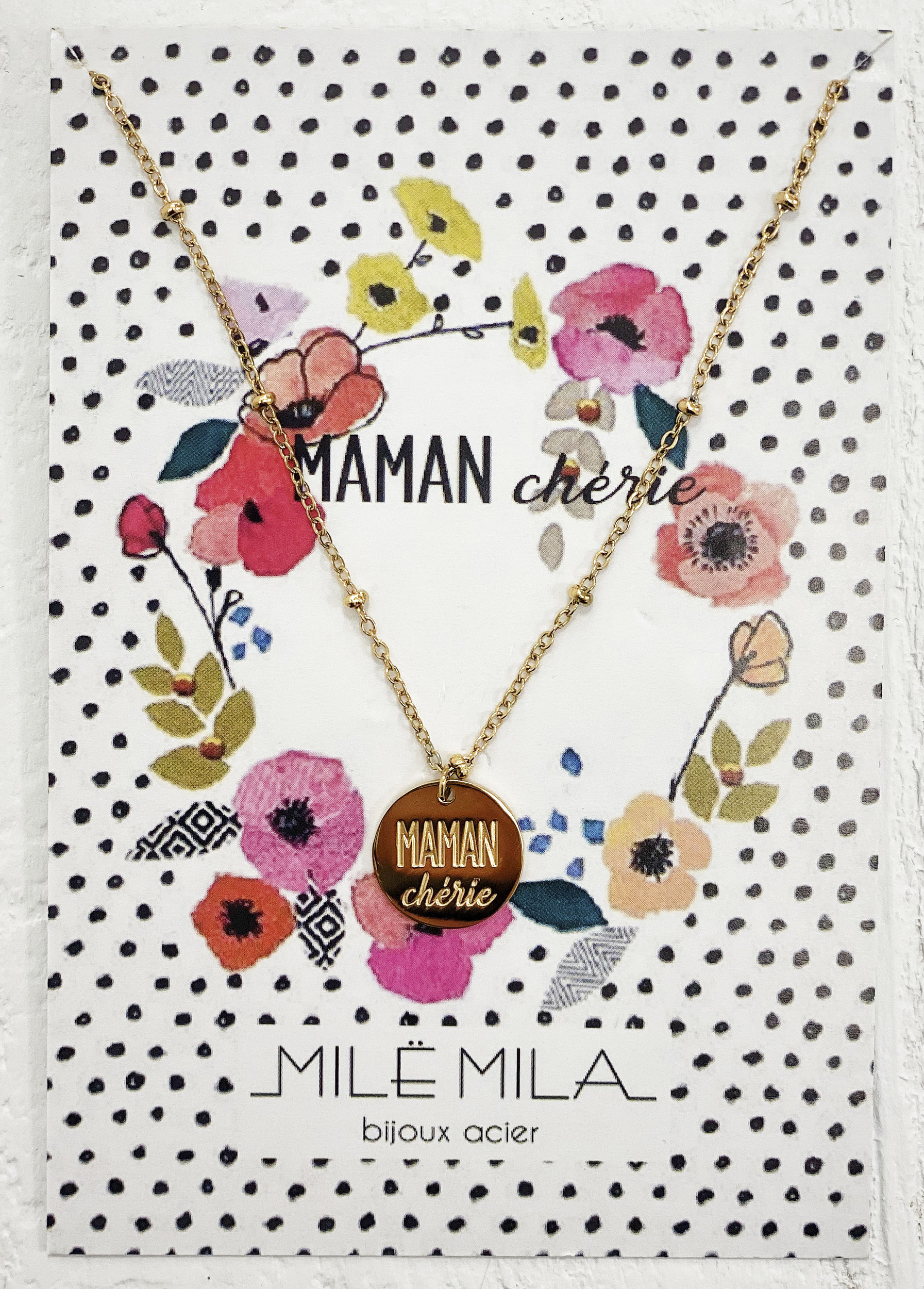Collier MAMAN CHERIE V2