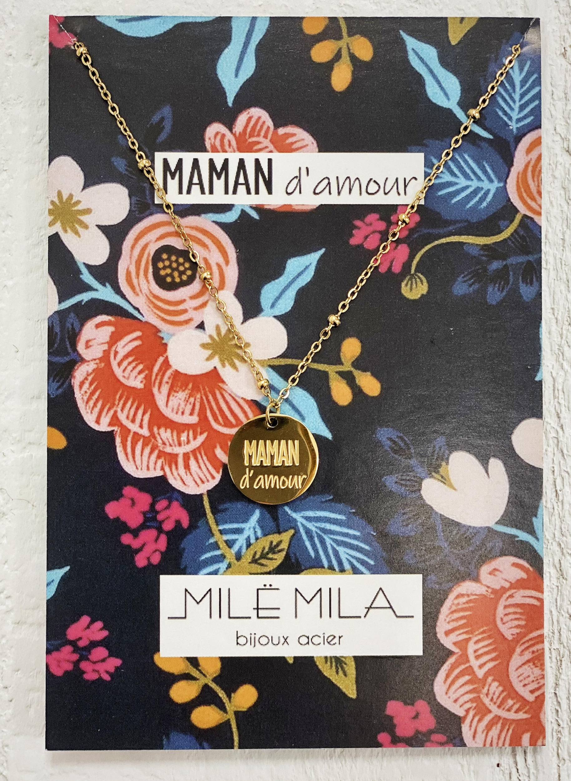 Collier MAMAN D\'AMOUR V1