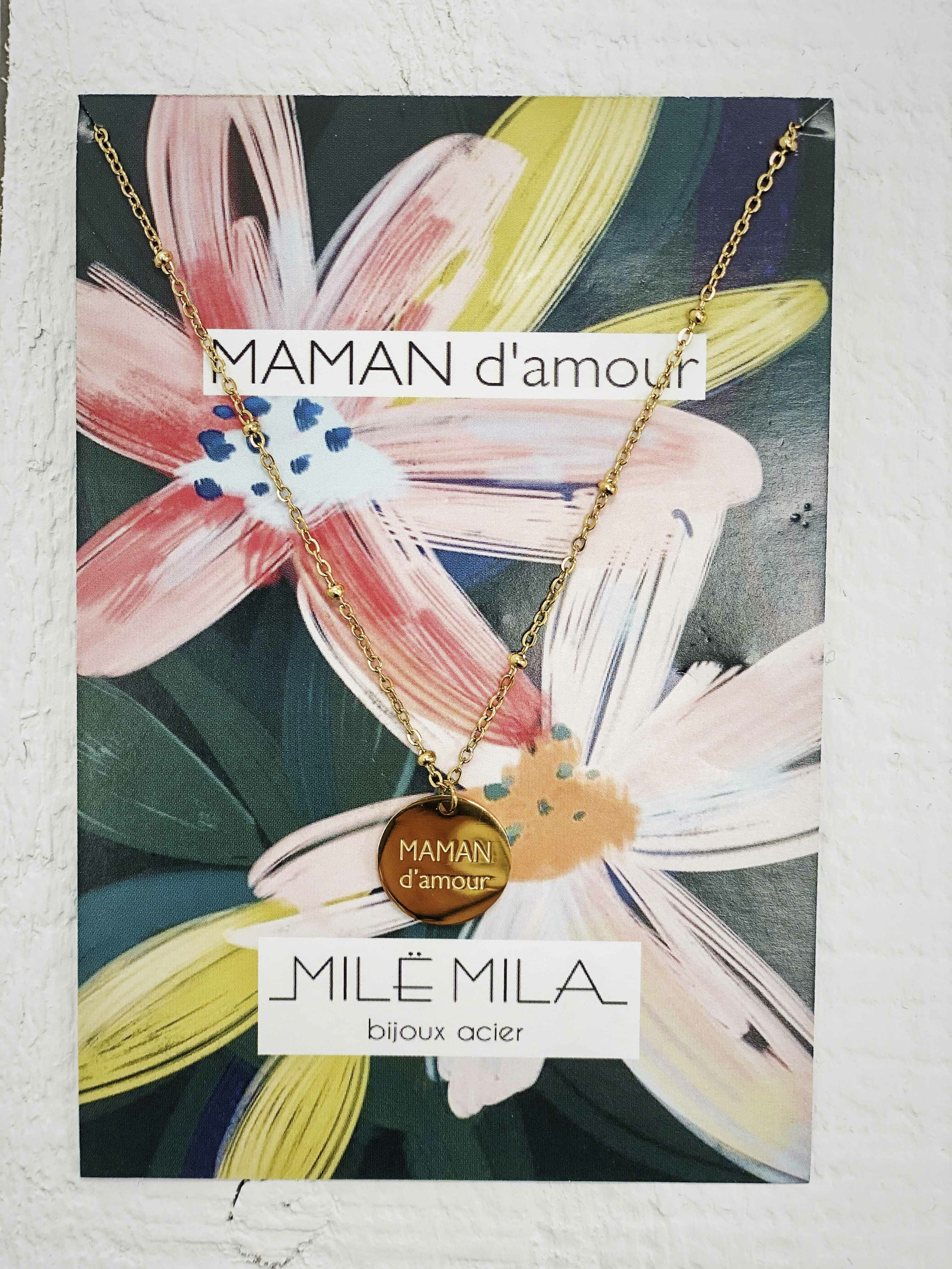 Collier MAMAN D\'AMOUR V2