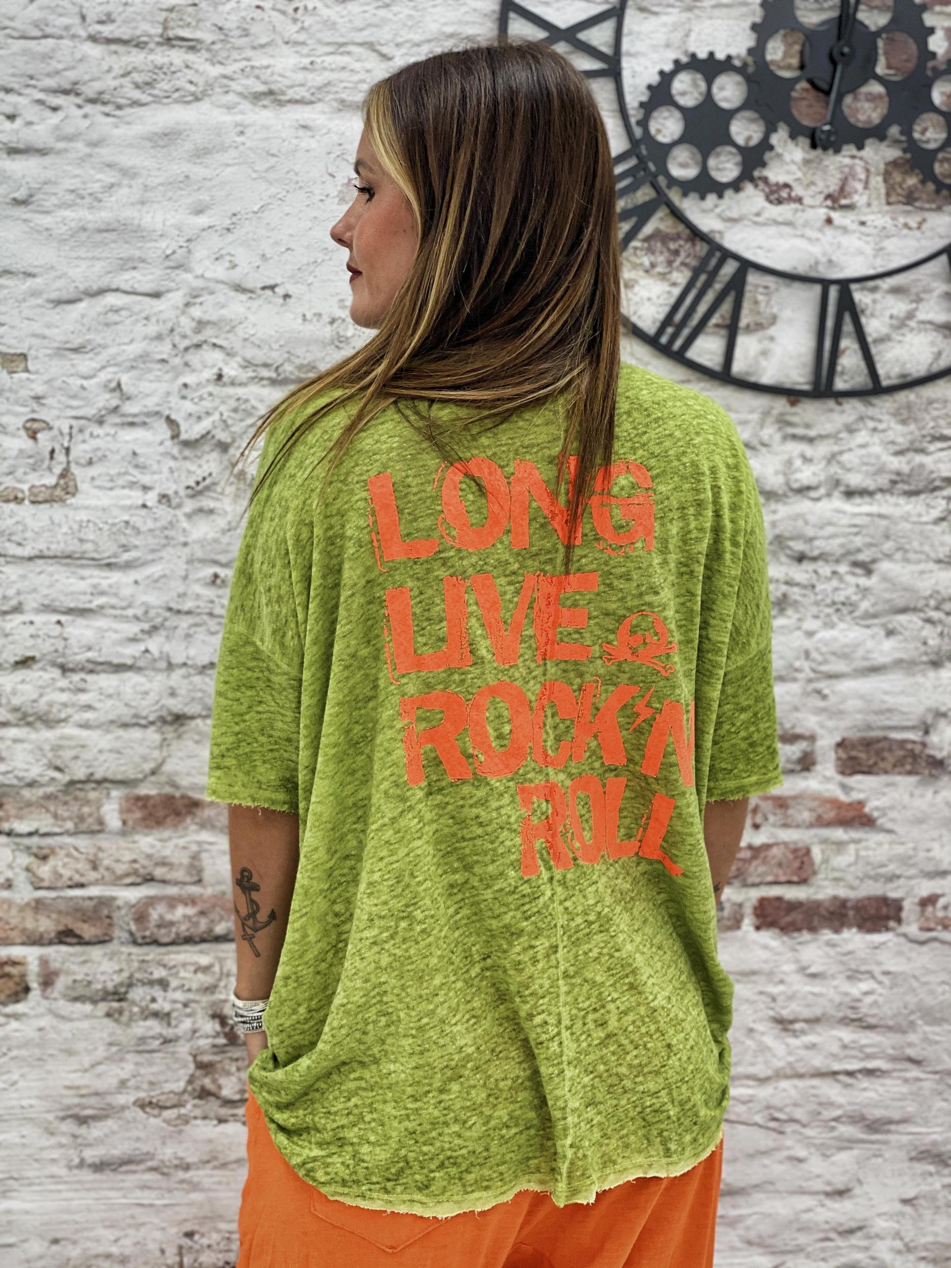T-shirt LONG LIFE vert Banditas