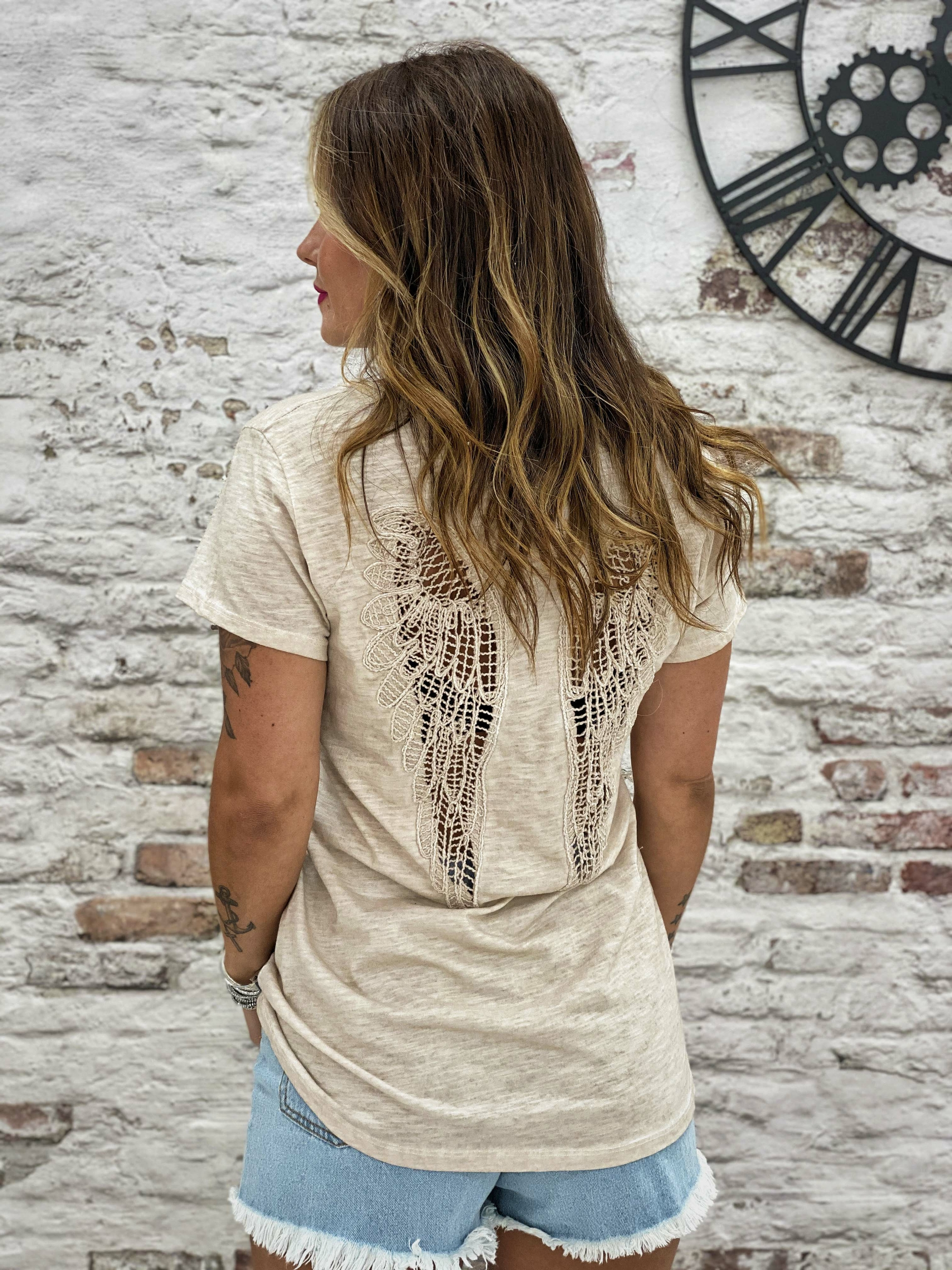 T-shirt FREE beige Chantal B