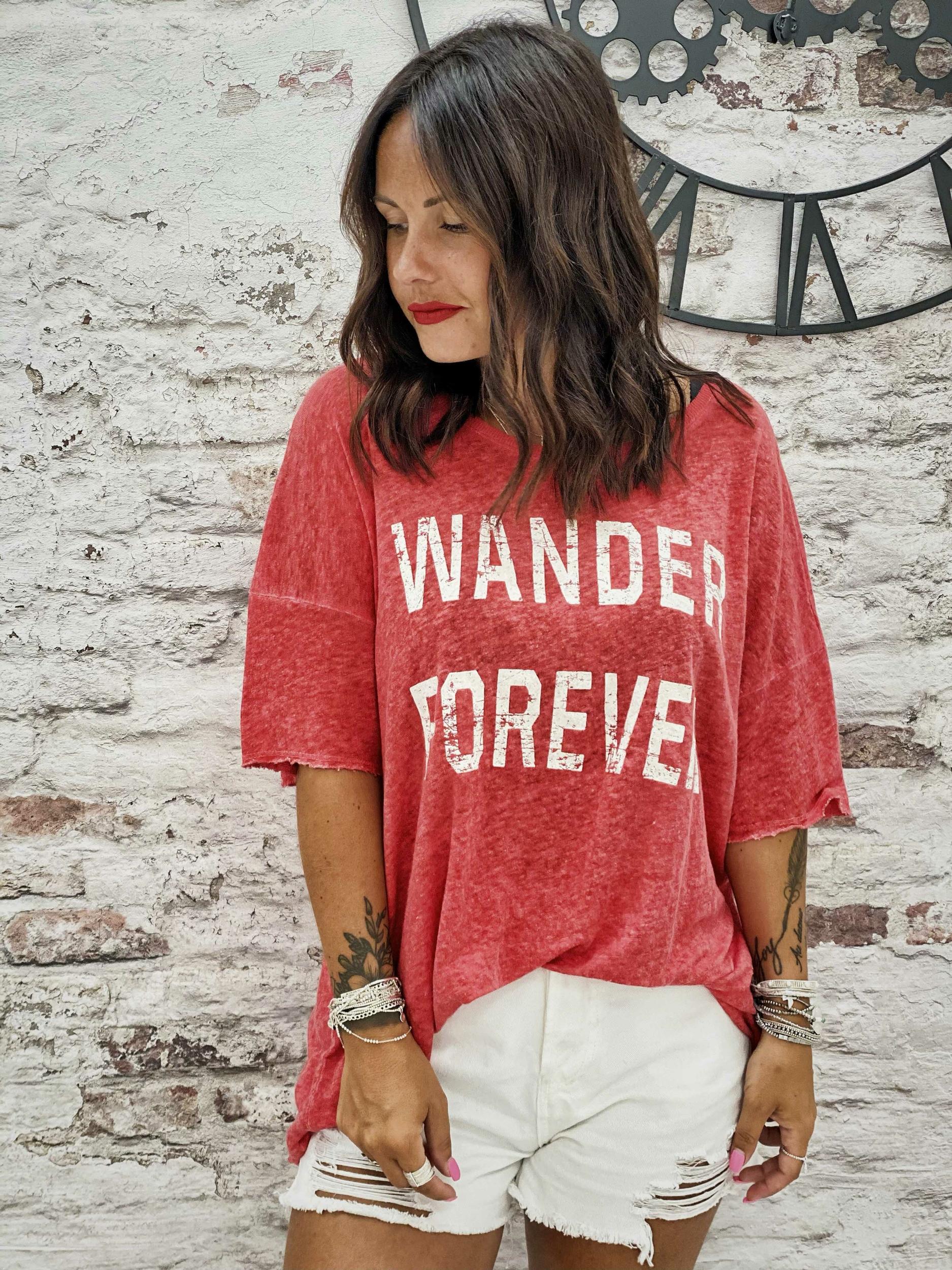 T-shirt WANDER MC rouge Banditas