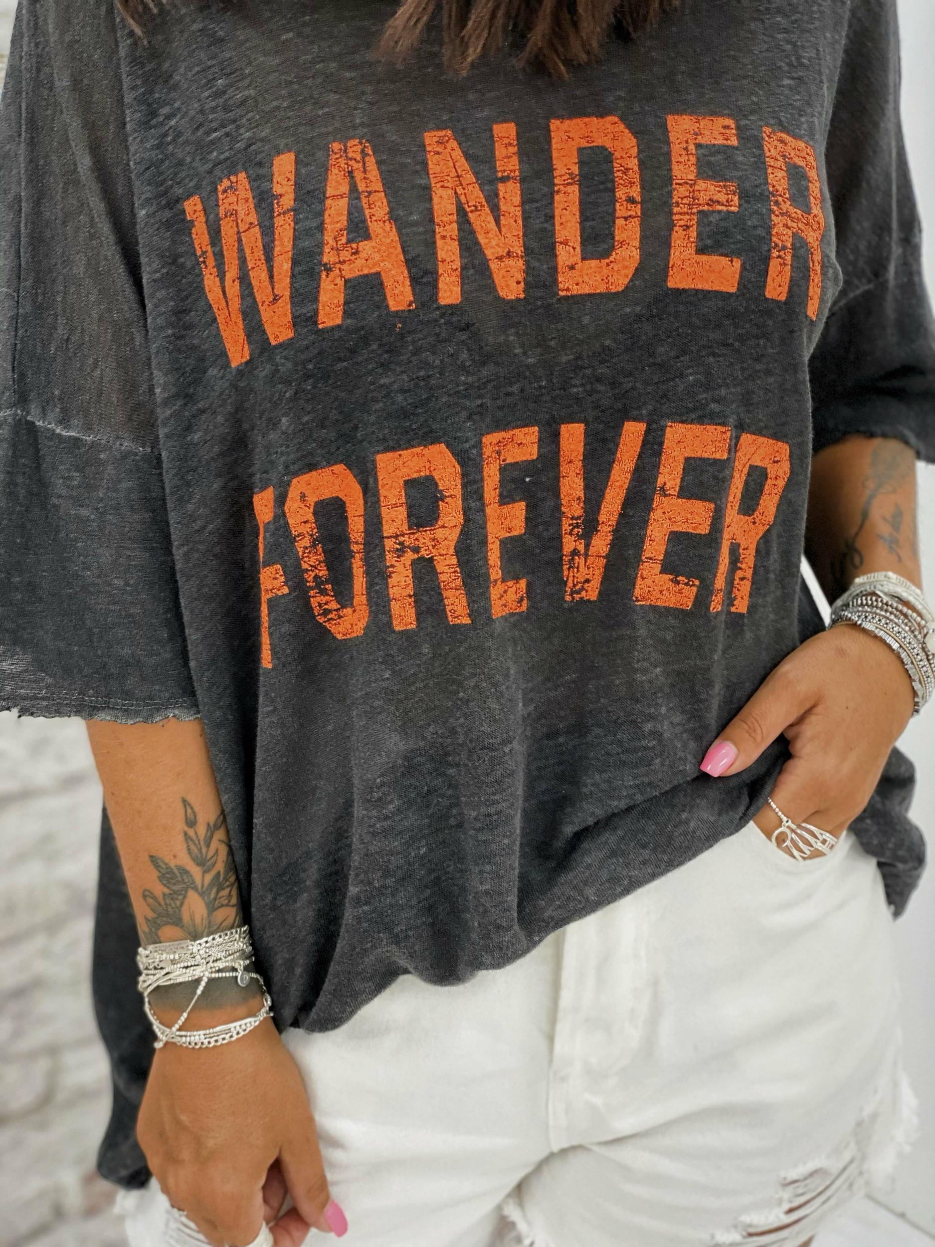 T-shirt WANDER MC anthracite Banditas