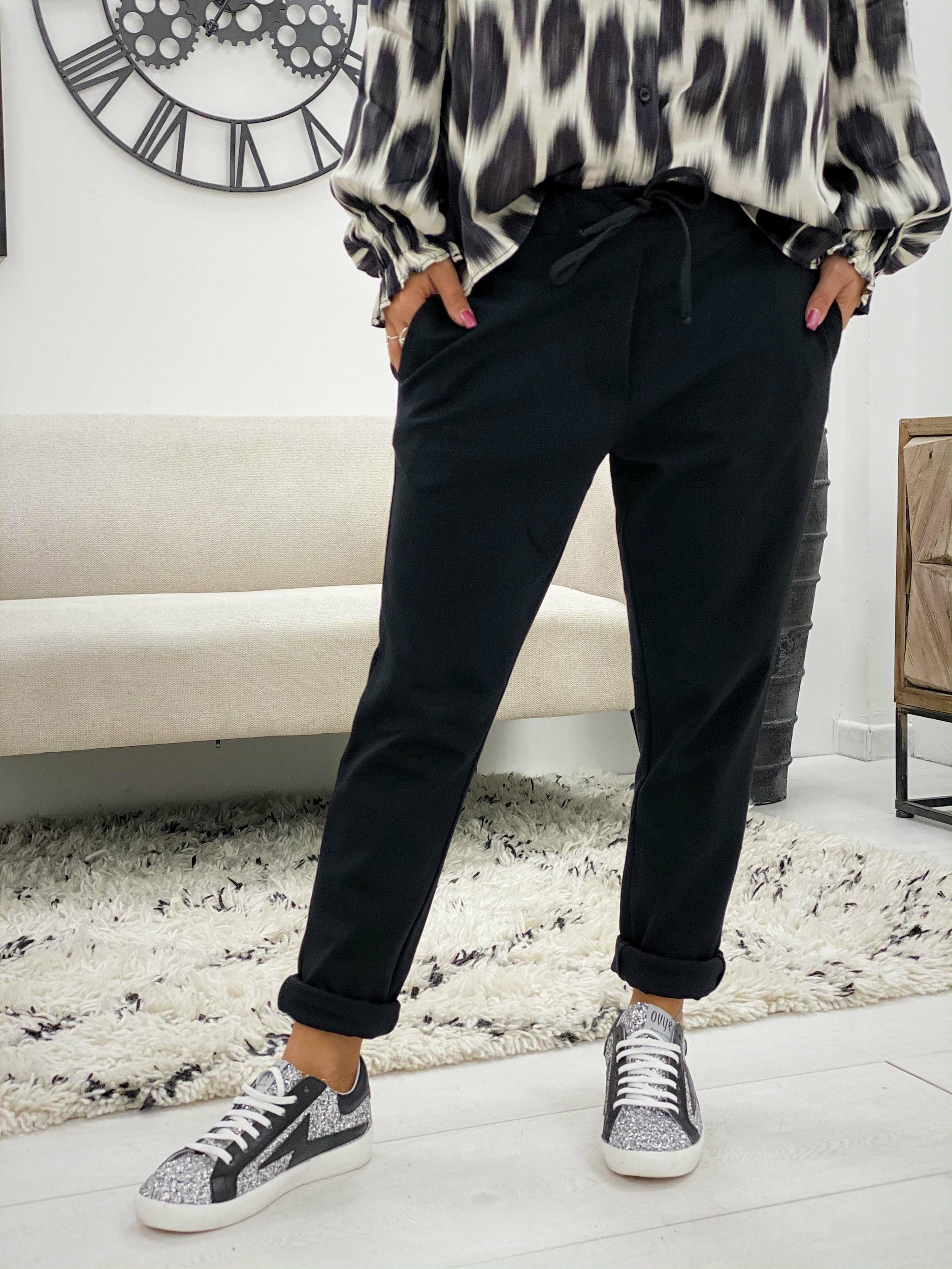 Pantalon BROOK noir Banditas