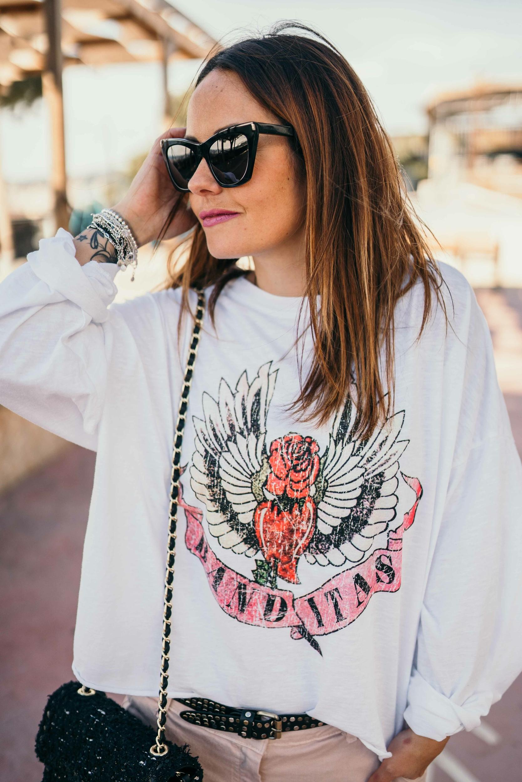 T-shirt ESTEBAN blanc Banditas