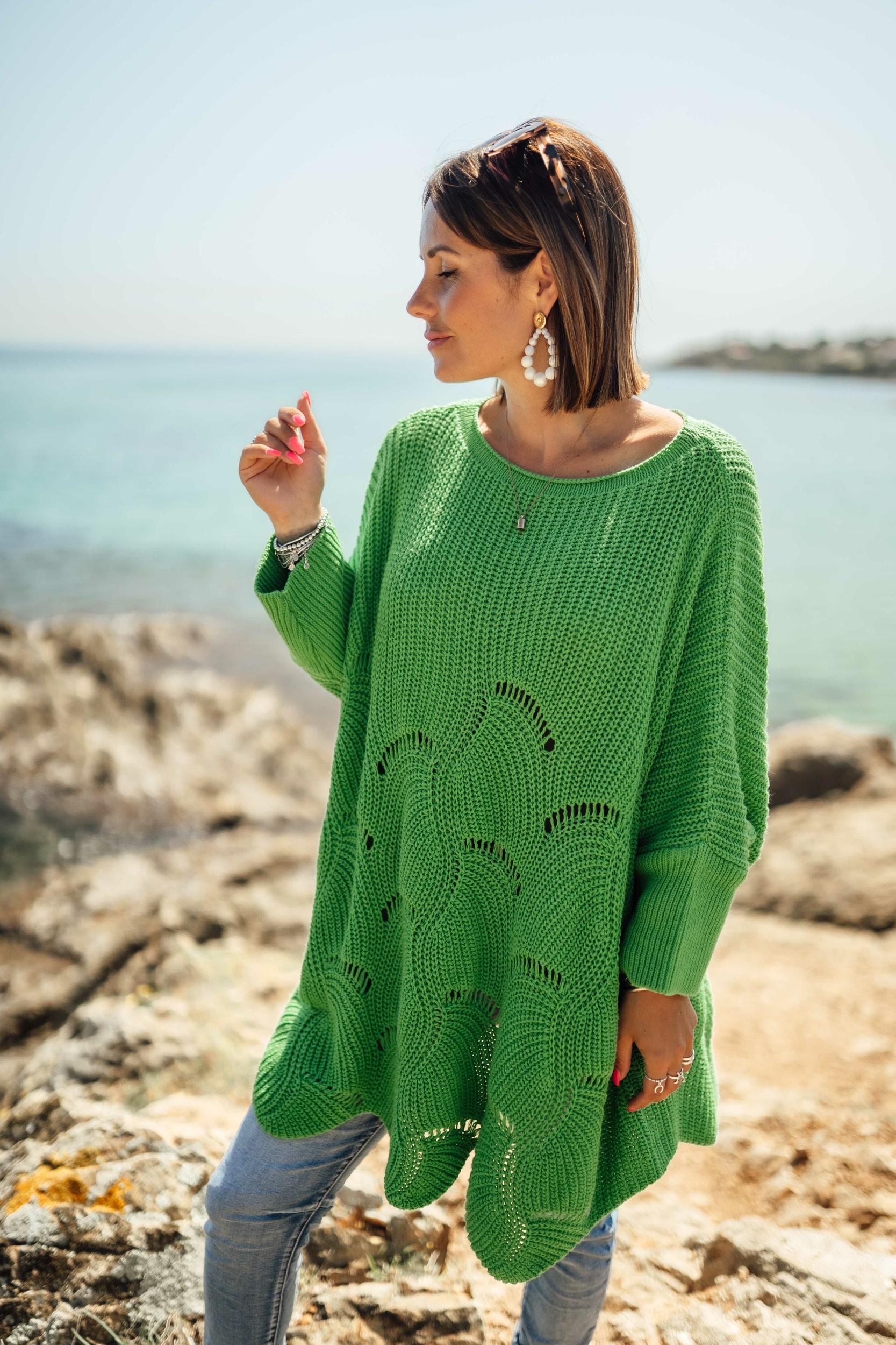 Tunique CORAL vert Banditas