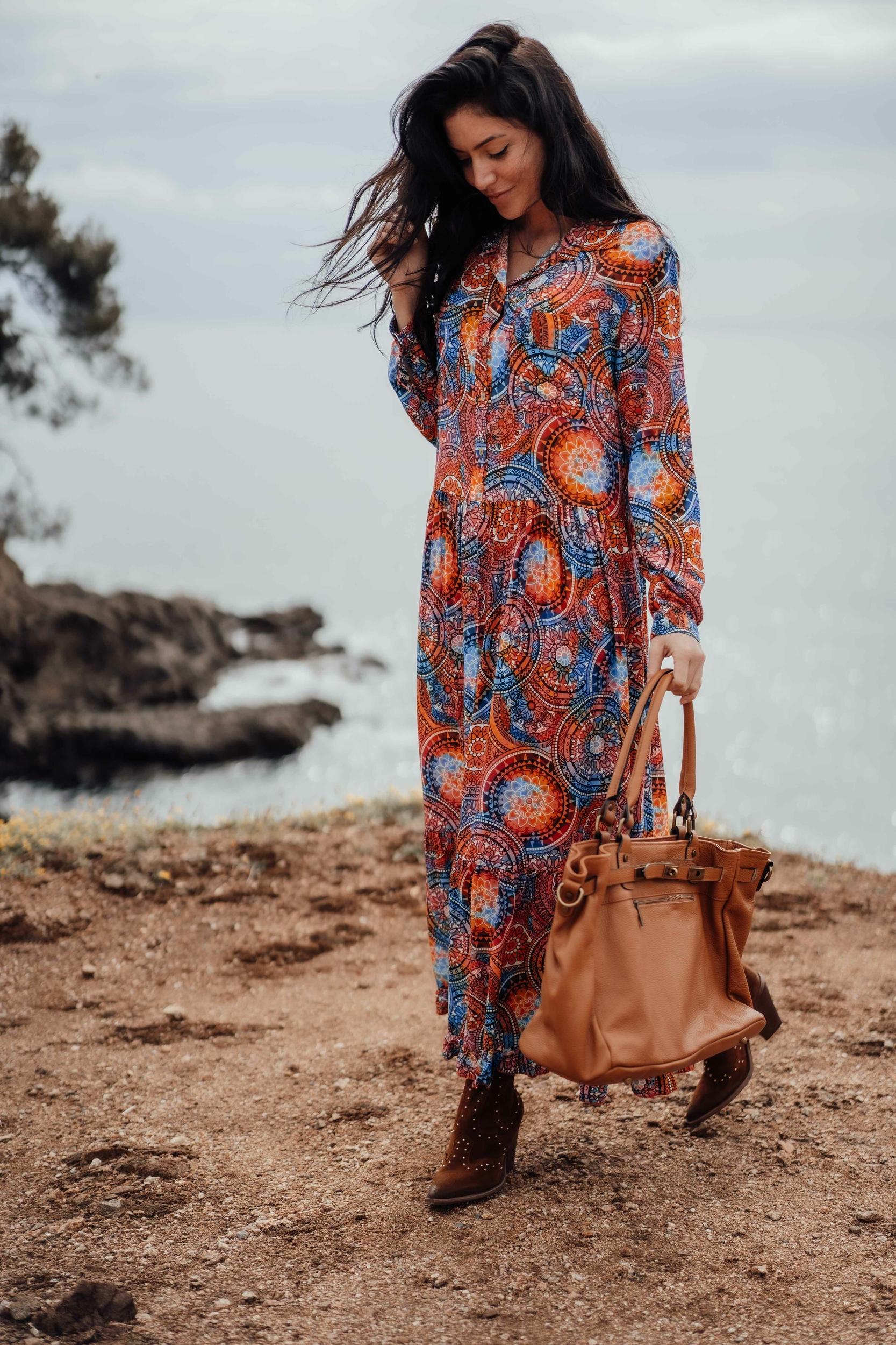 robe_longue_sisco_bleu_orangé-10