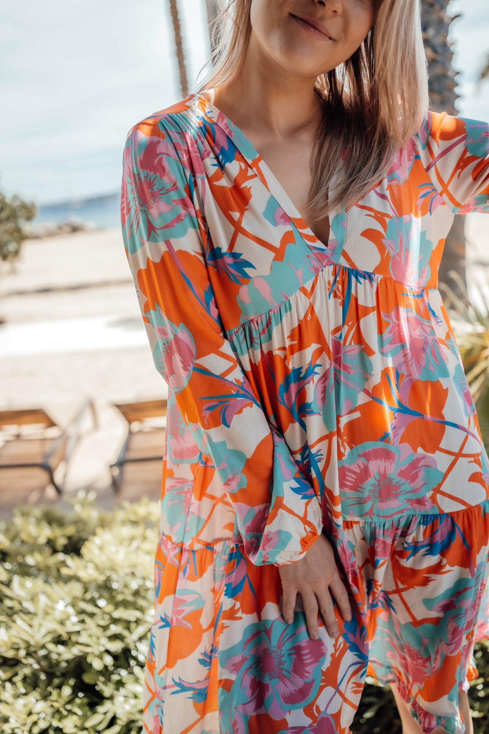 robe_lindsay_courte_orange_turquoise-10