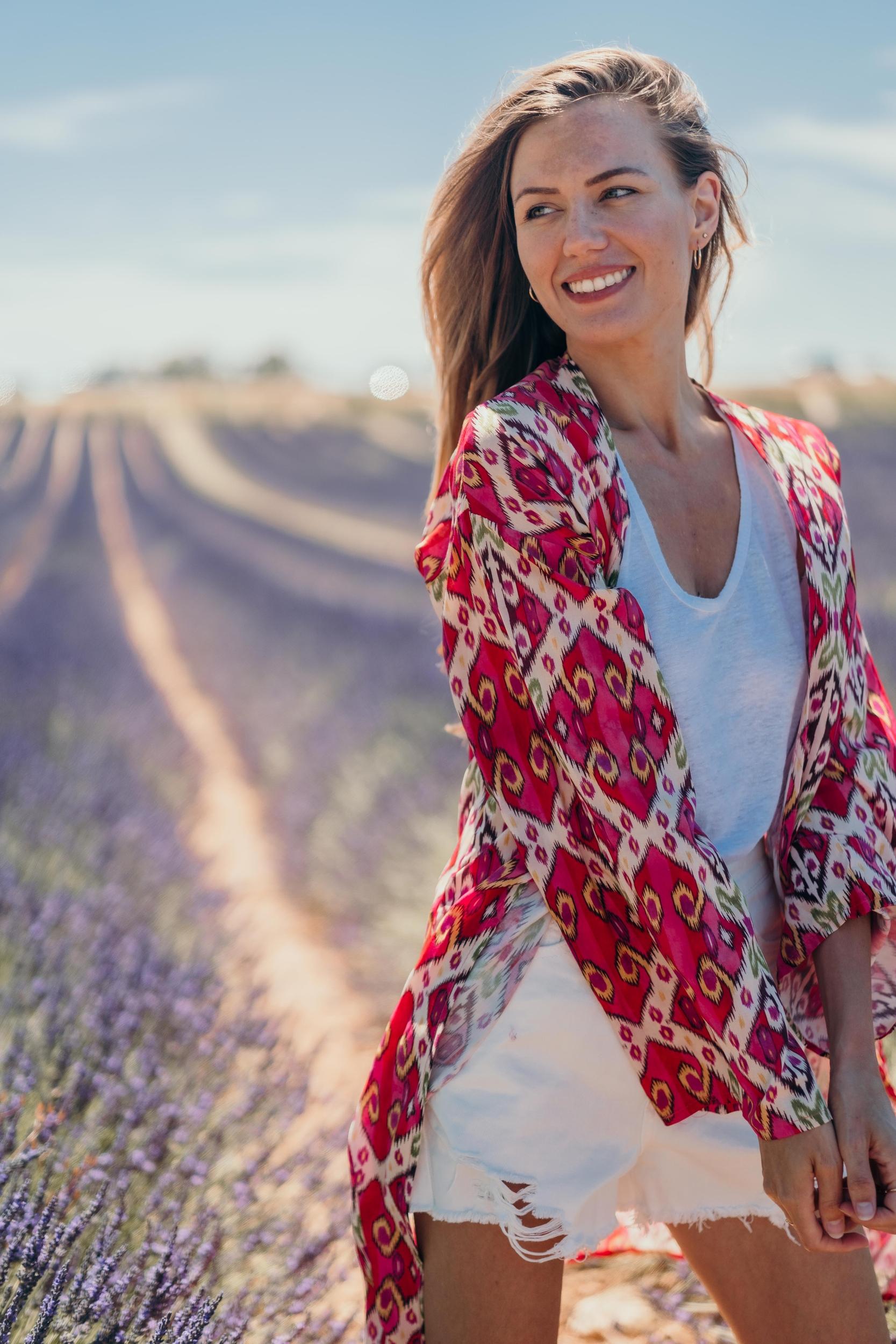 Kimono LIVIA fuchsia Banditas