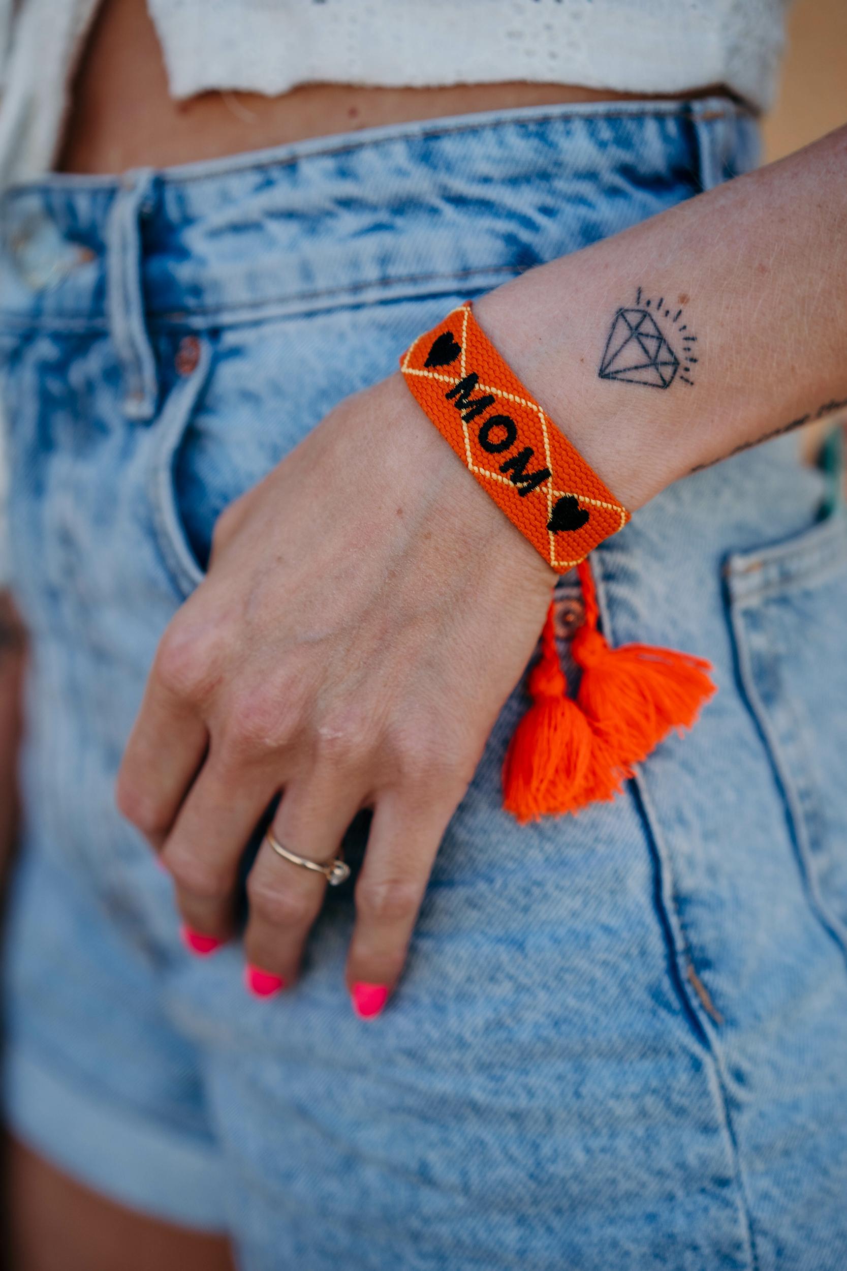 Bracelet MOM orange
